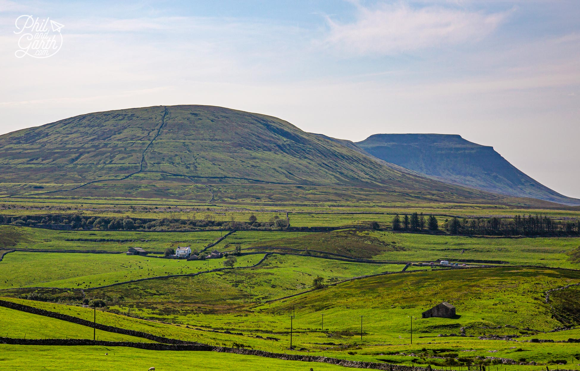 Ribblesdale - home of the 'Three Peaks Challenge'
