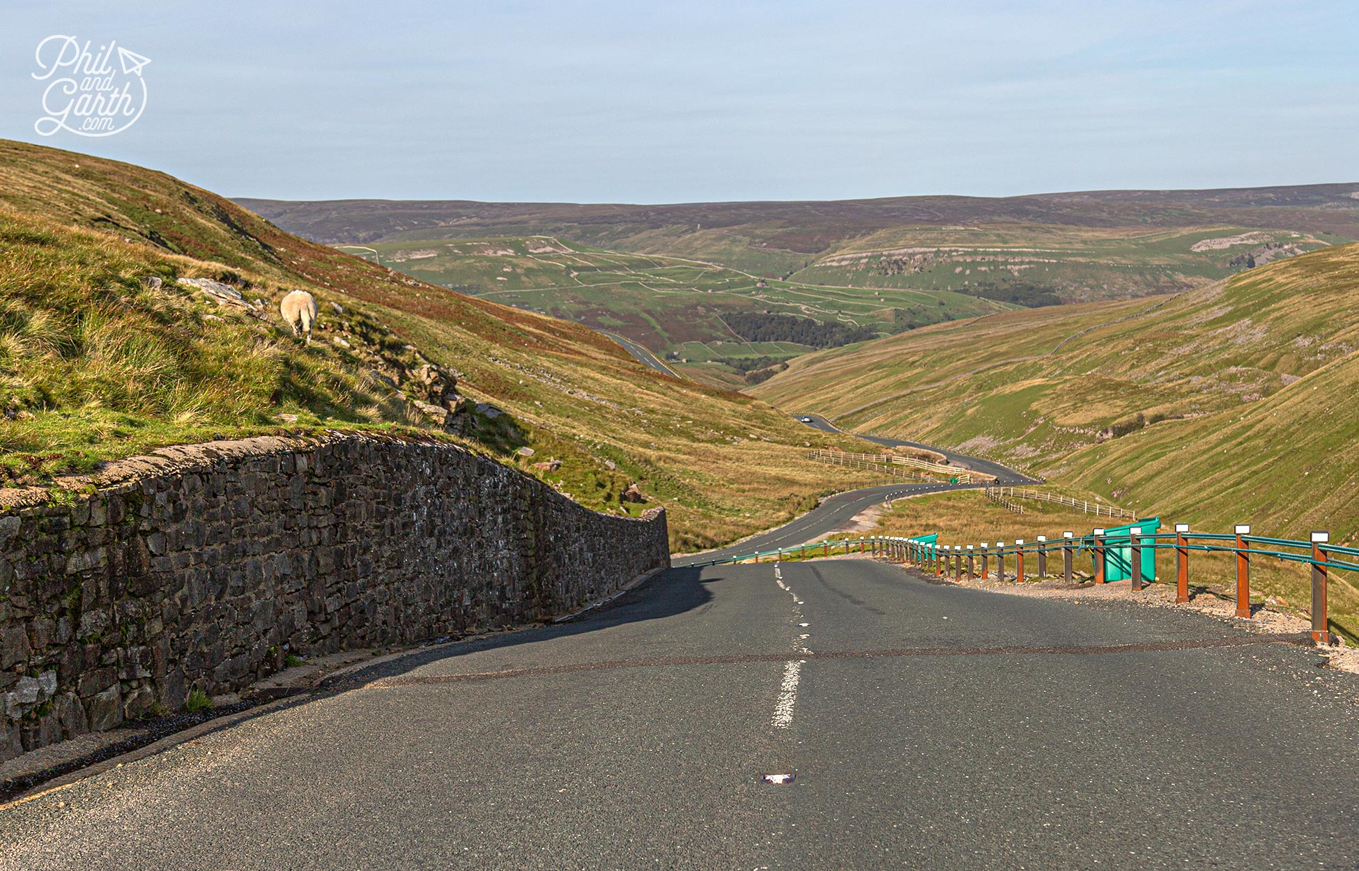 The Buttertubs Pass is one of the top scenic roads in the Yorkshire Dales