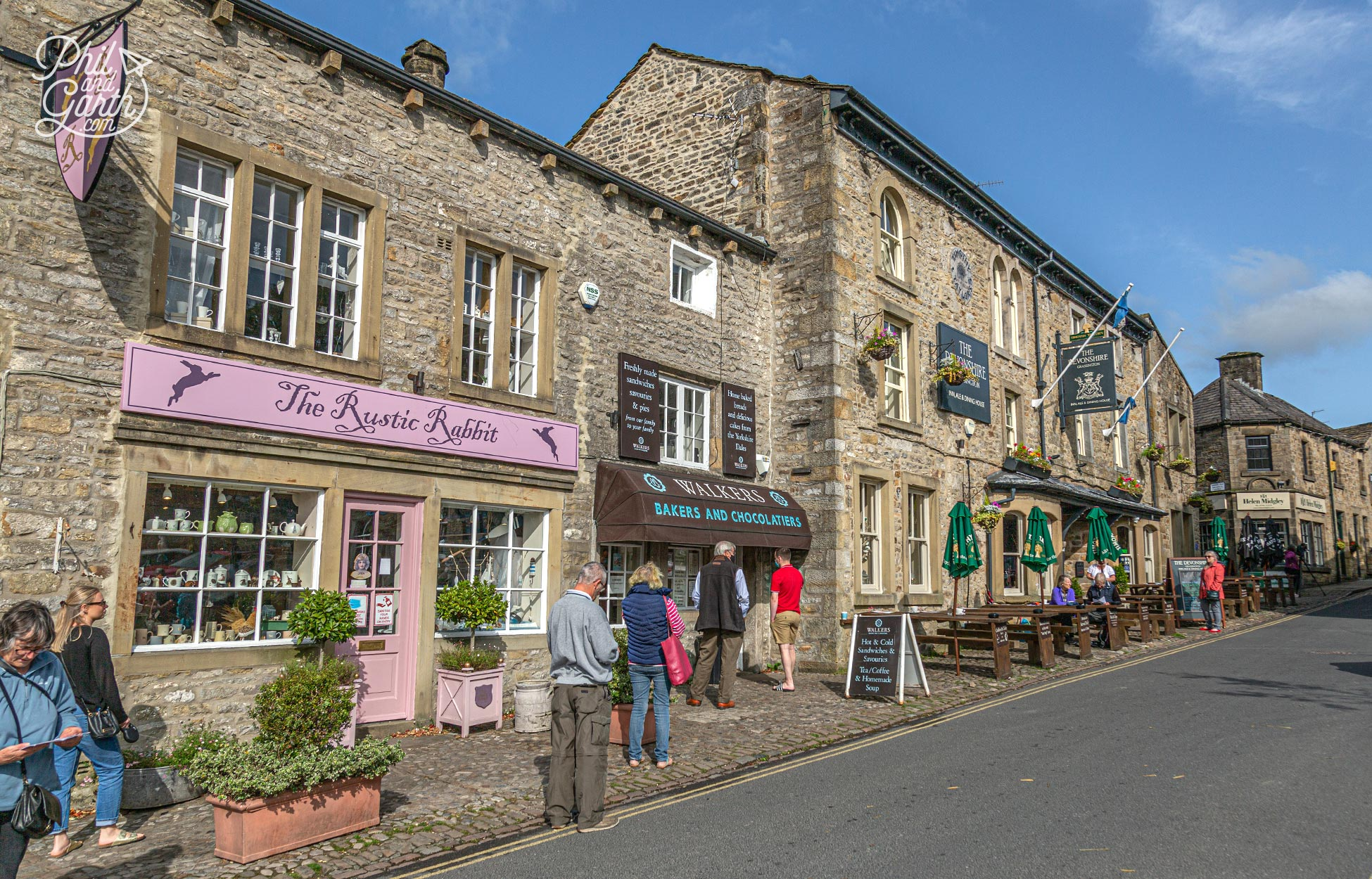 The Devonshire is the local pub in Grassington Yorkshire Dales