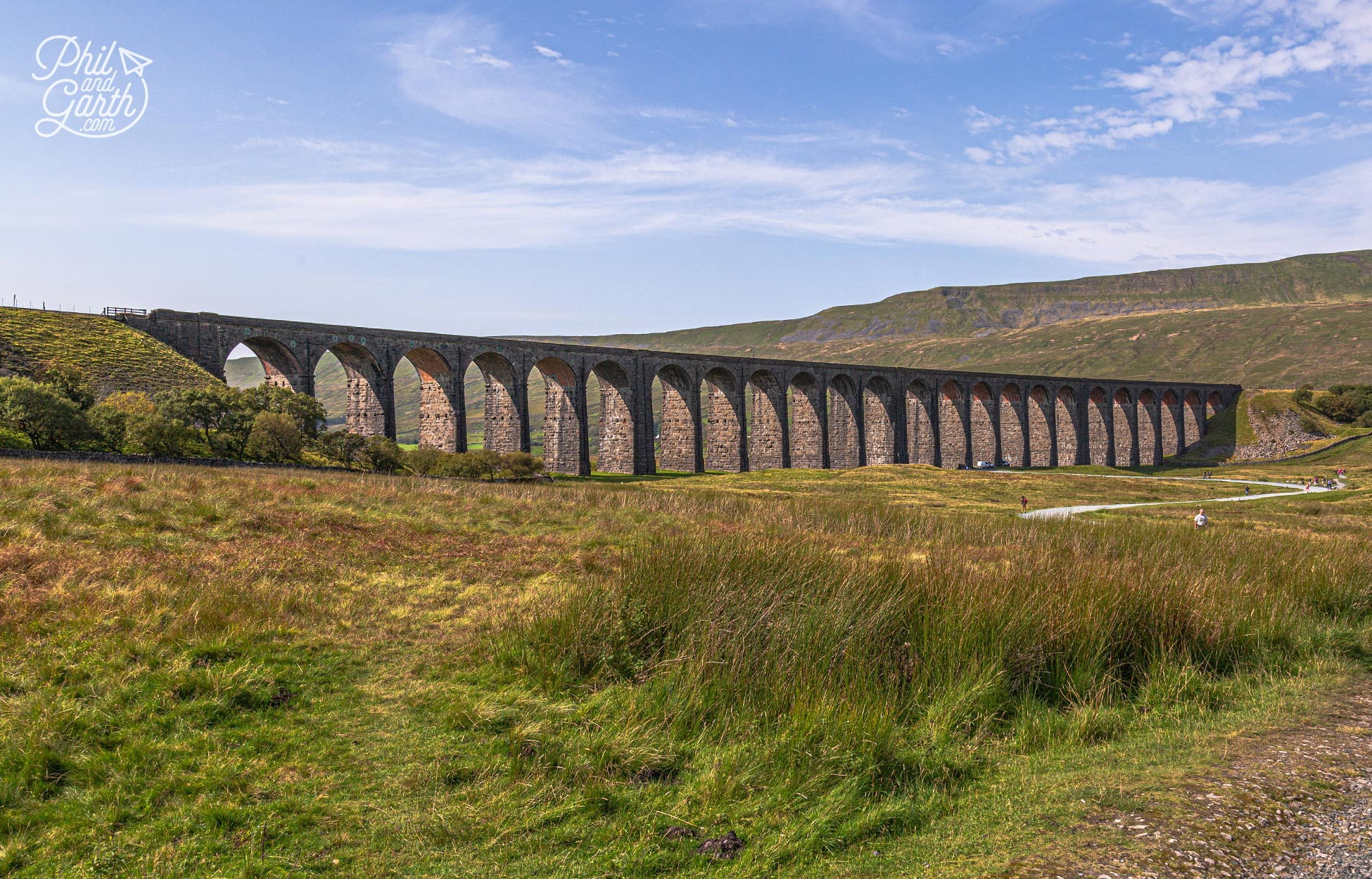 The Ribblehead Viaduct is the longest railway viaduct in the UK
