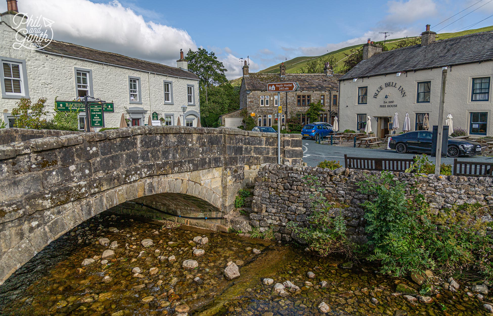 The charming village of Kettlewell where they filmed Calendar Girls