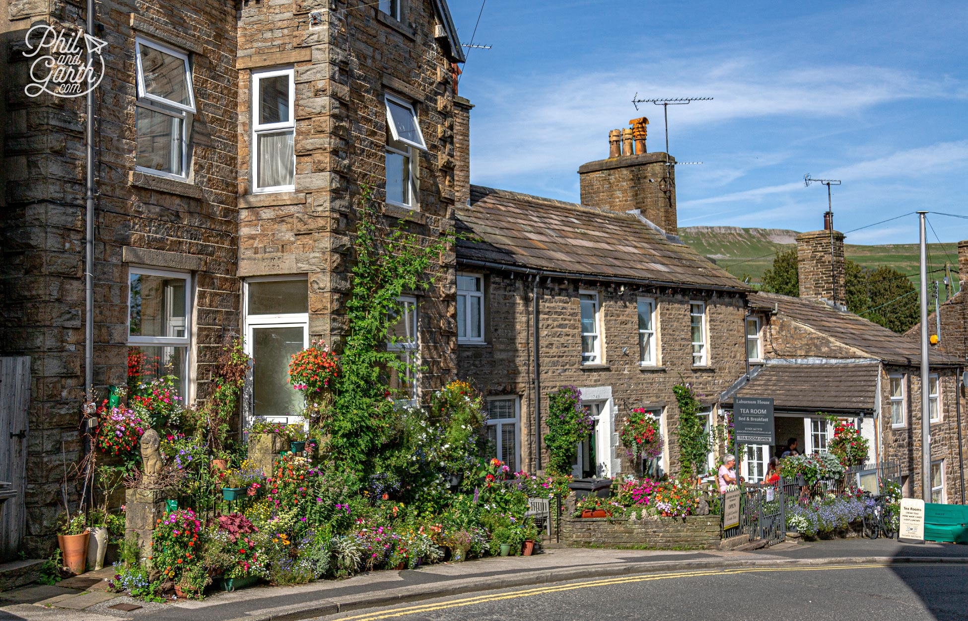 The pretty market town of Hawes in Wensleydale - One of the best Yorkshire Dales villages