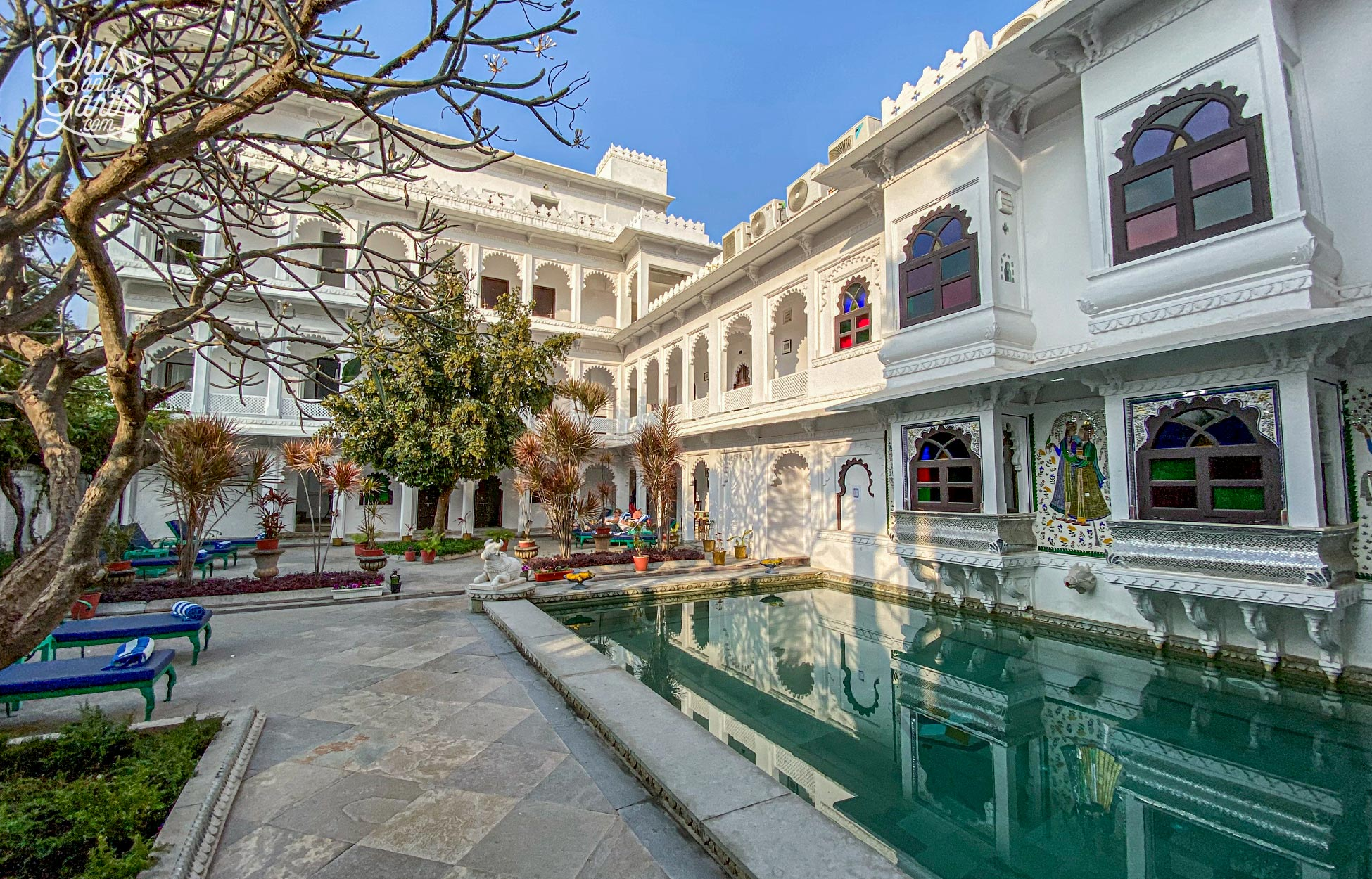 Amet Haveli is stunning we would love to stay here next time we visit Udaipur
