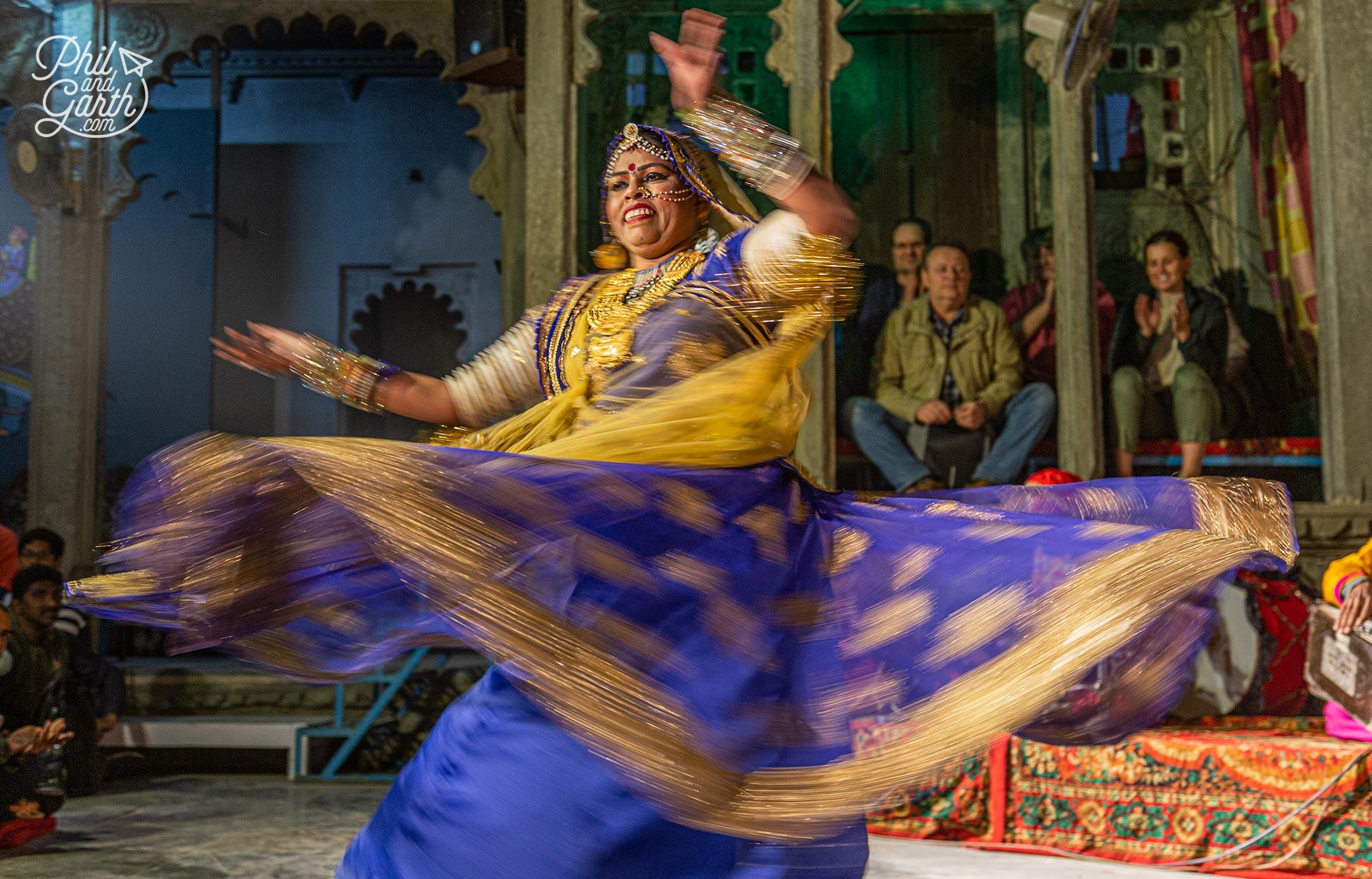 Dharohar Folk Dance Show at Bagore Ki Haveli Museum