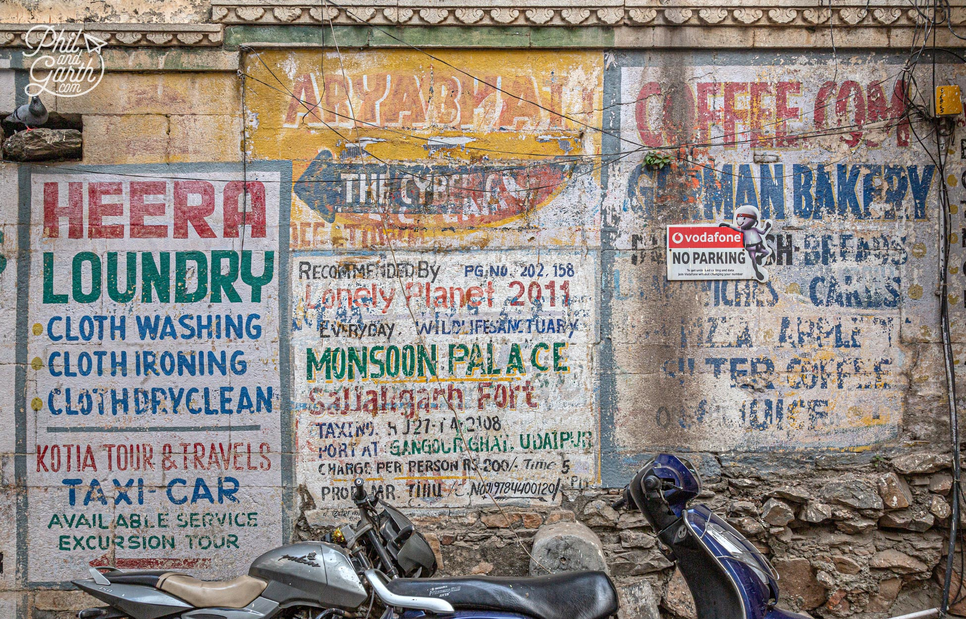 Love these old hand painted signs
