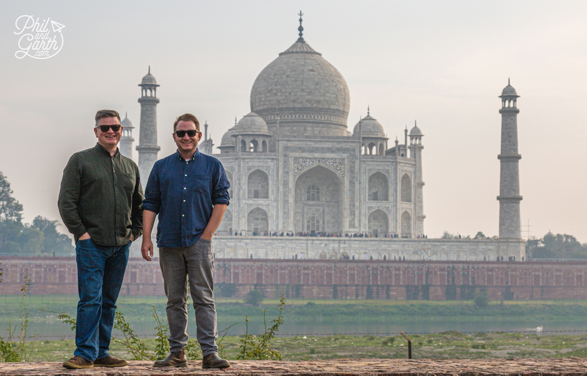 Mehtab Bagh is the perfect spot for photos of the Taj Mahal without all the crowds