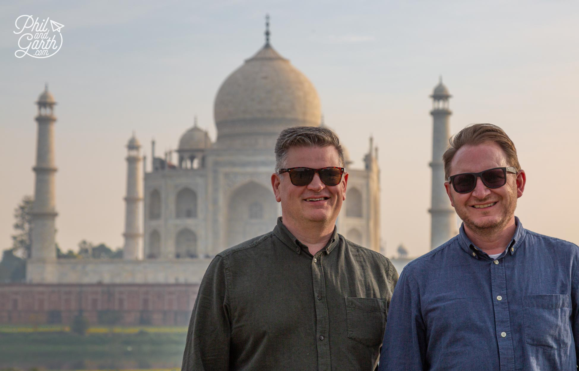 Phil and Garth's Top 5 Agra Itinerary Tips