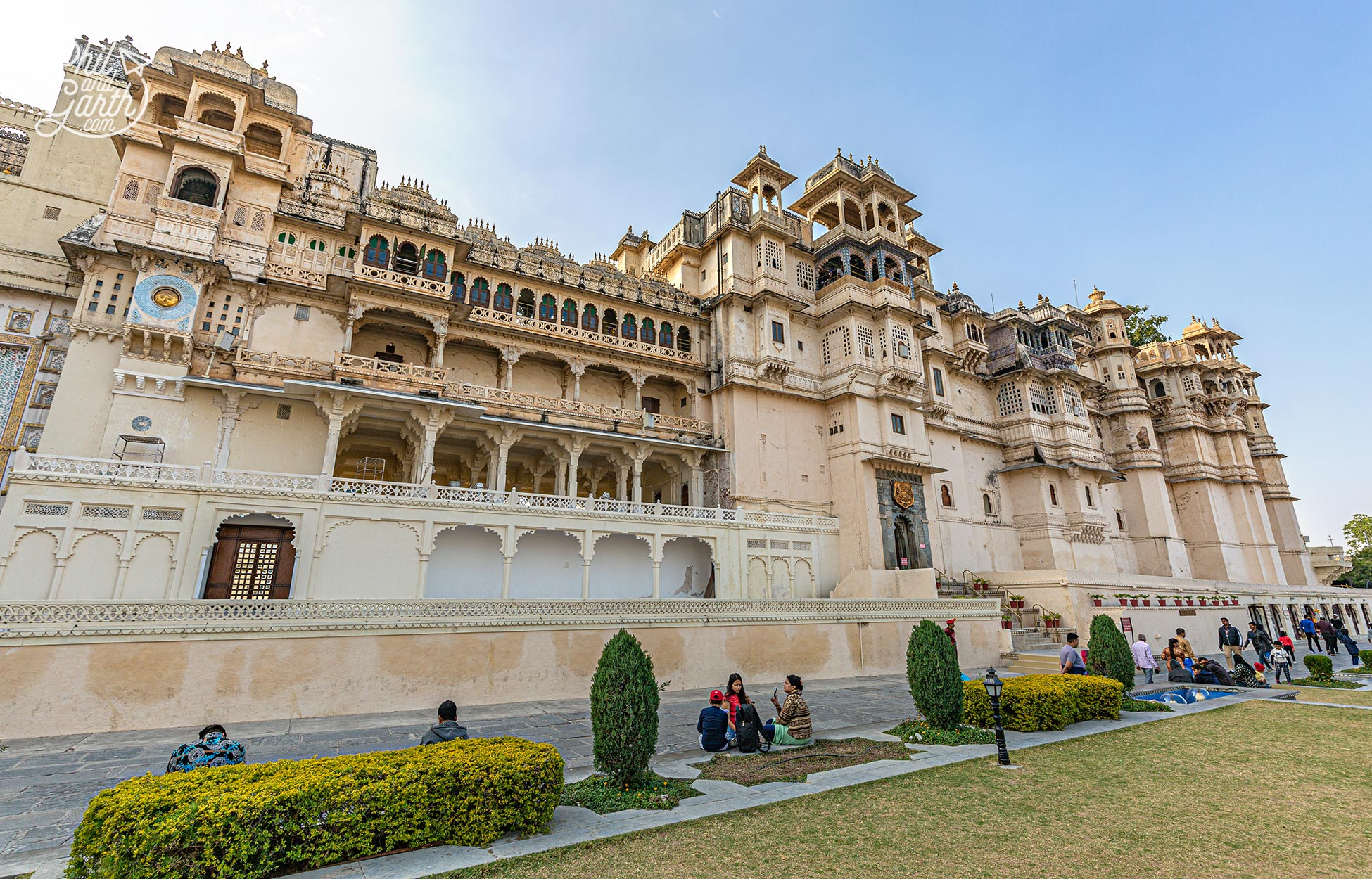 The incredibly beautiful City Palace - The must see attraction of Udaipur