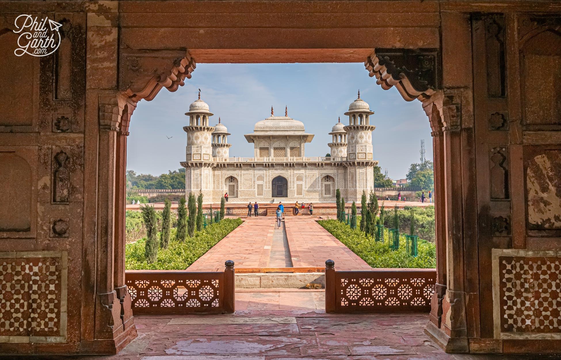 The mausoleum of I'timād-ud-Daulah also known as 'The Baby Taj'