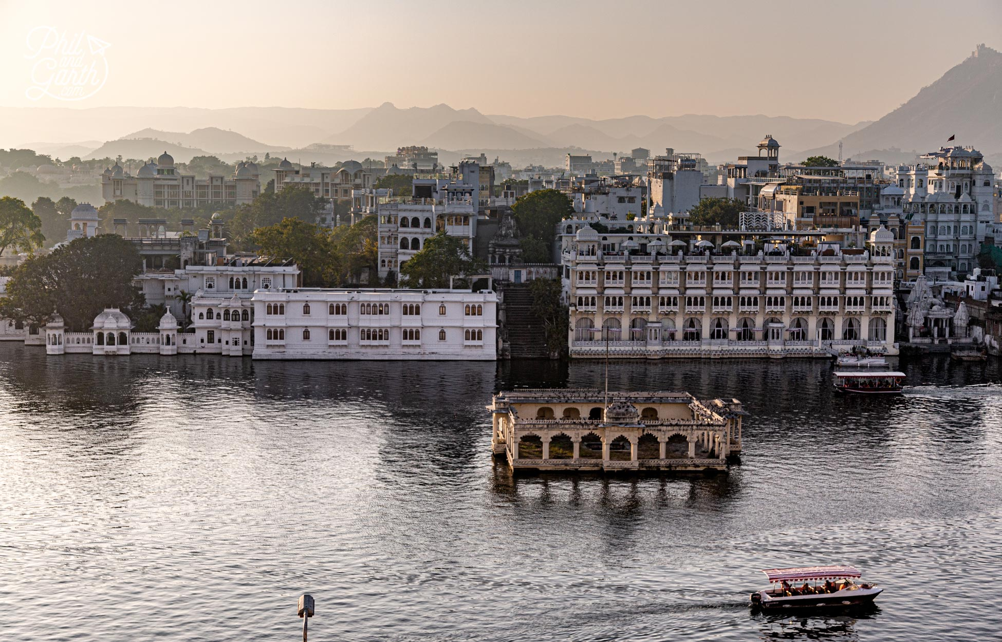 Udaipur was founded in 1559 by Maharana Udai Singh II. Some people call it the 'Venice of India'