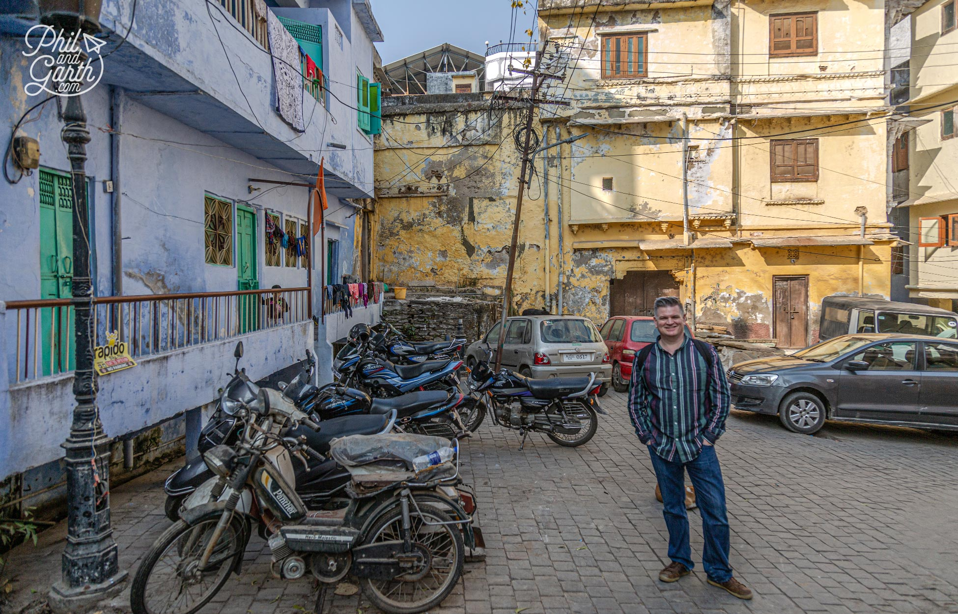 Wandering around the back streets of Udaipur