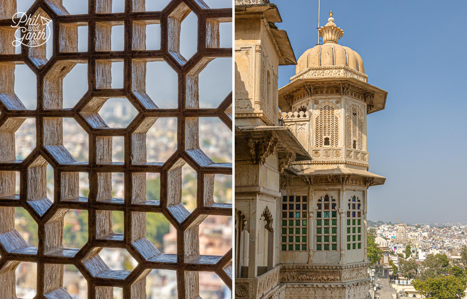 Window views from the Badi Mahal