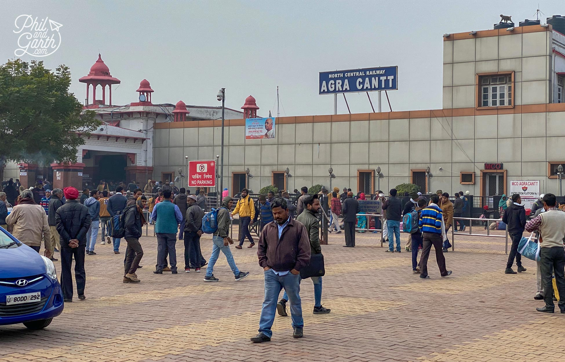 Agra attracts huge numbers of domestic and foreign tourists every year