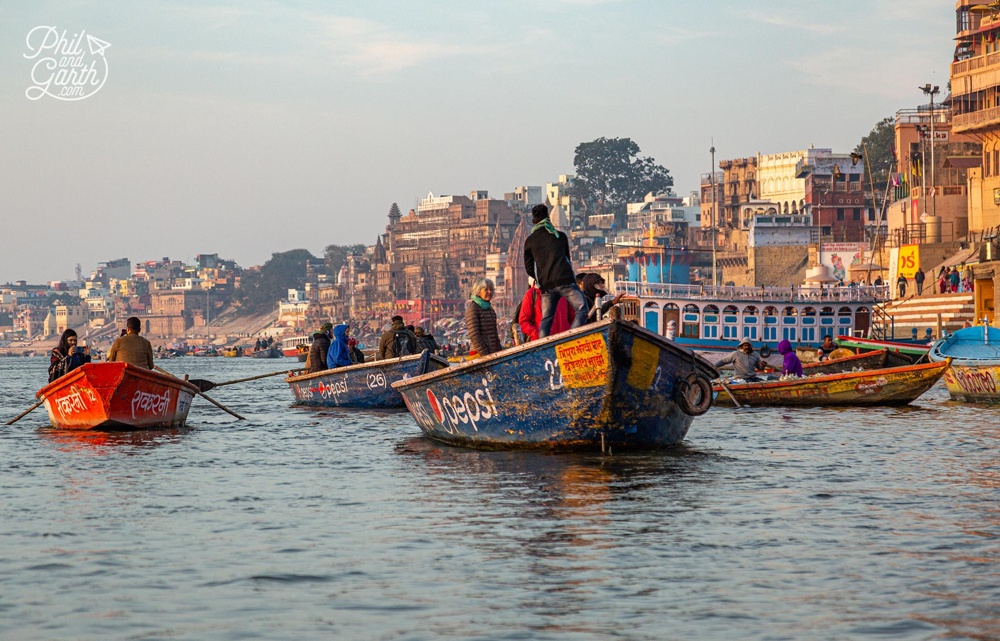 We thought an early morning boat ride down the River Ganges is one of the best ways to experience Varanasi