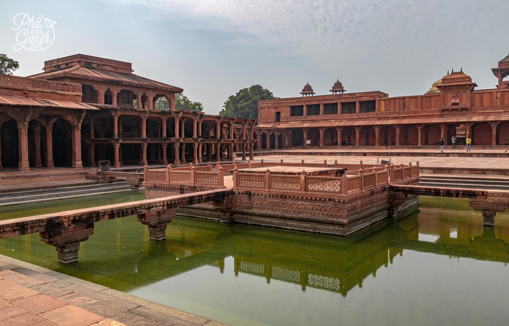 The abandoned Royal city of Fatehpur Sikri, which means 'The City of Victory'