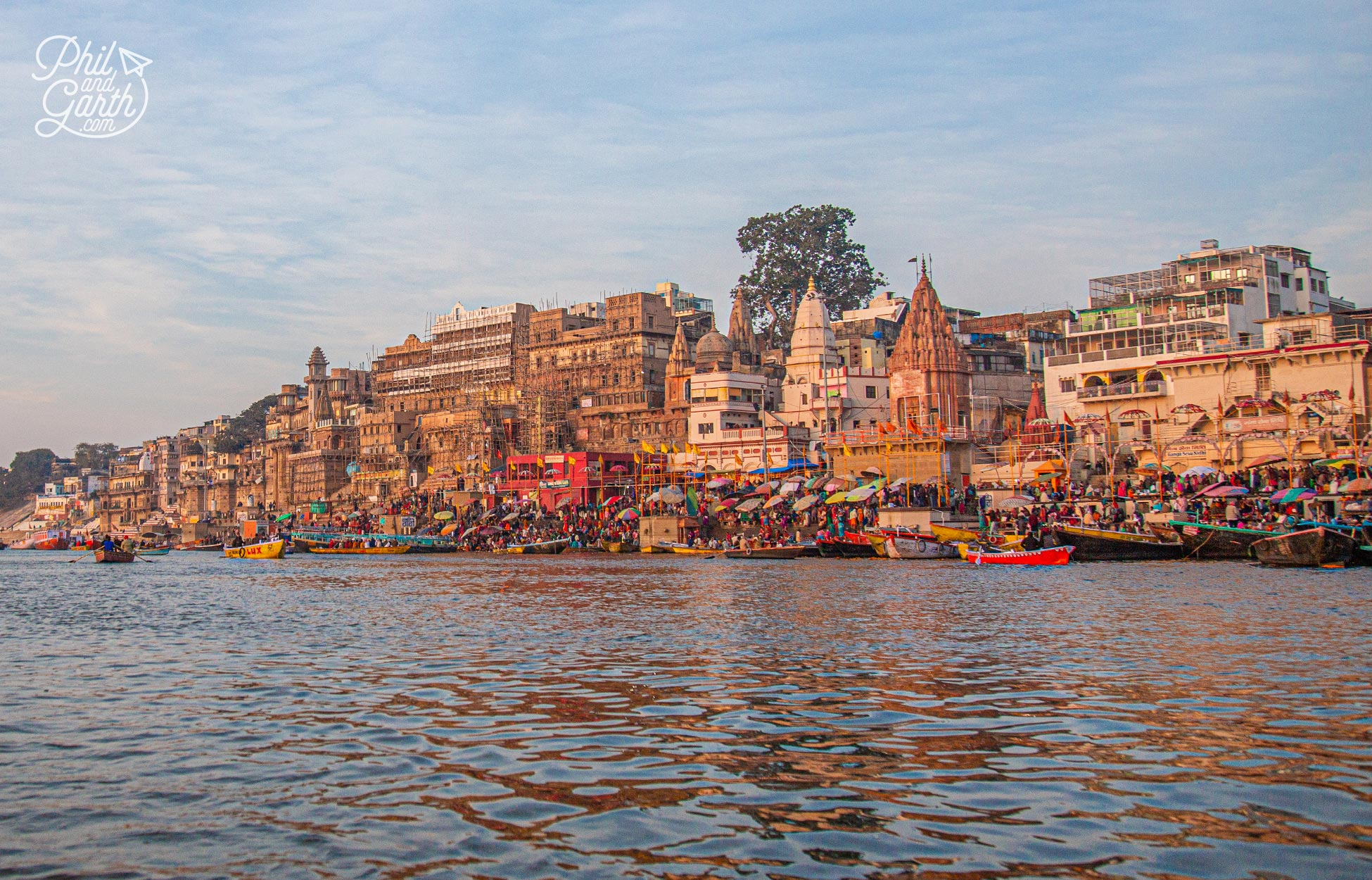 Known as the 'city of temples' - Varanasi has over 23,000 temples