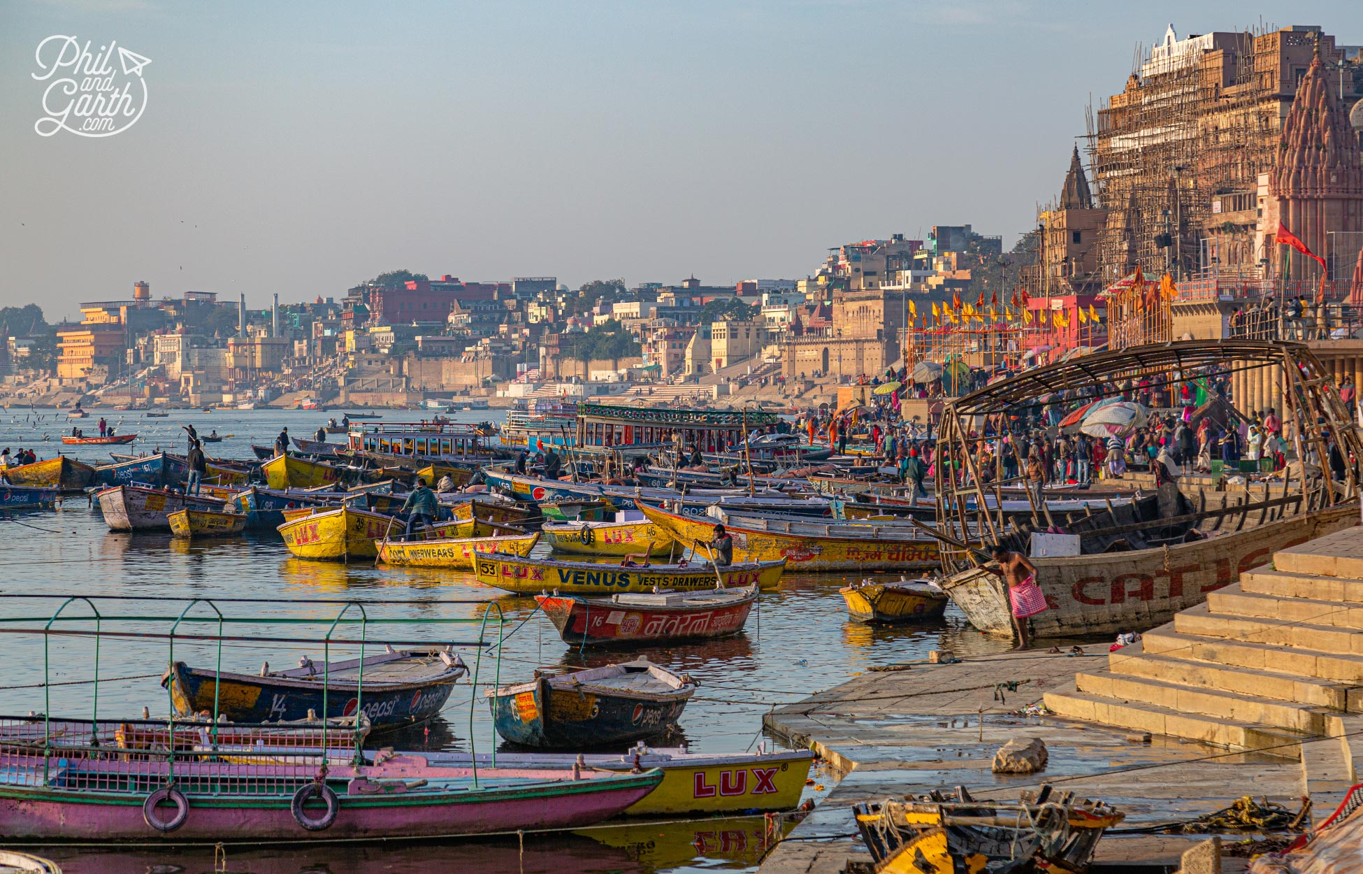 Walking the Ghats is one of the best things to in Varanasi