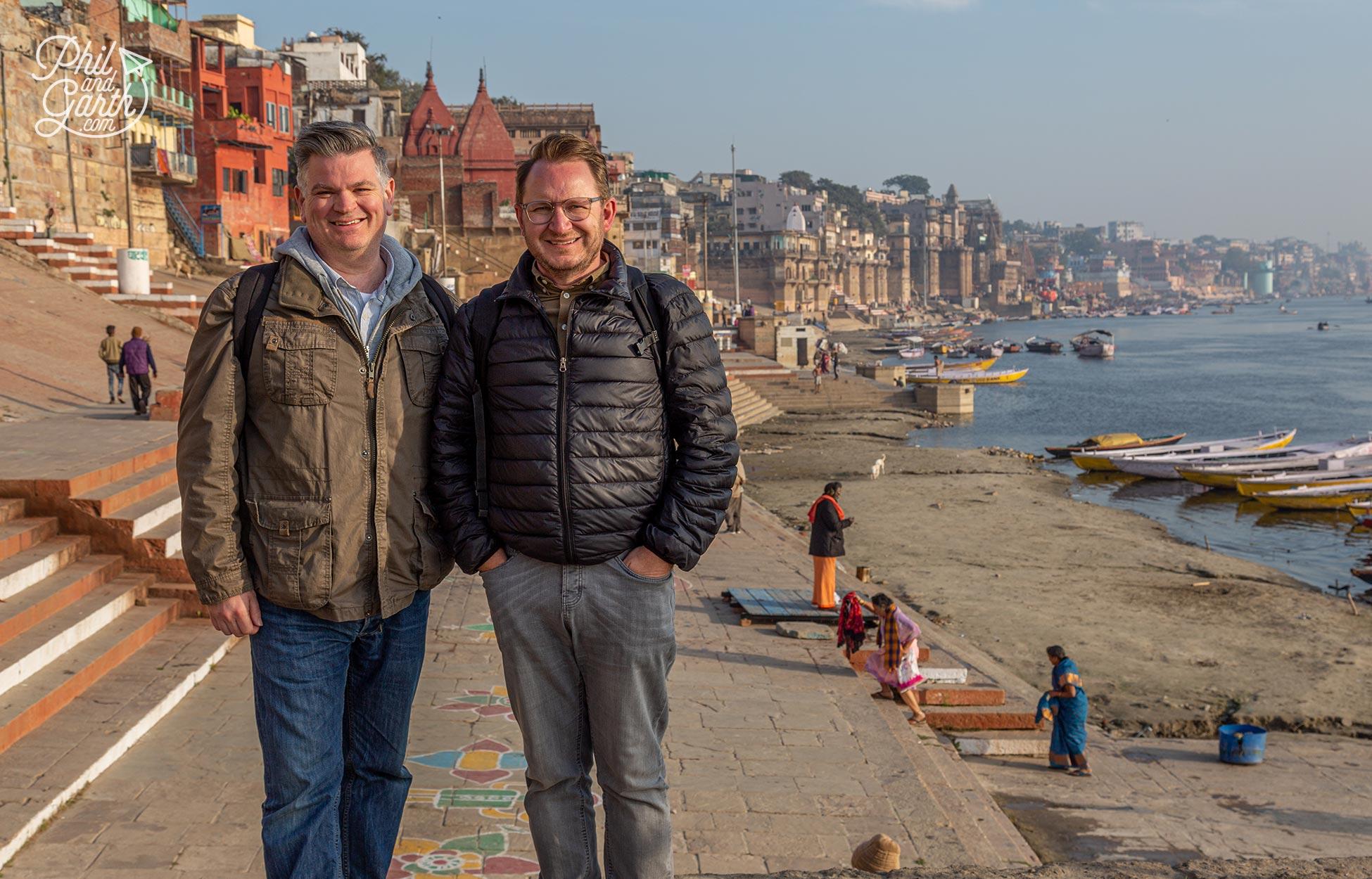 Phil and Garth's Top 5 Varanasi Tips