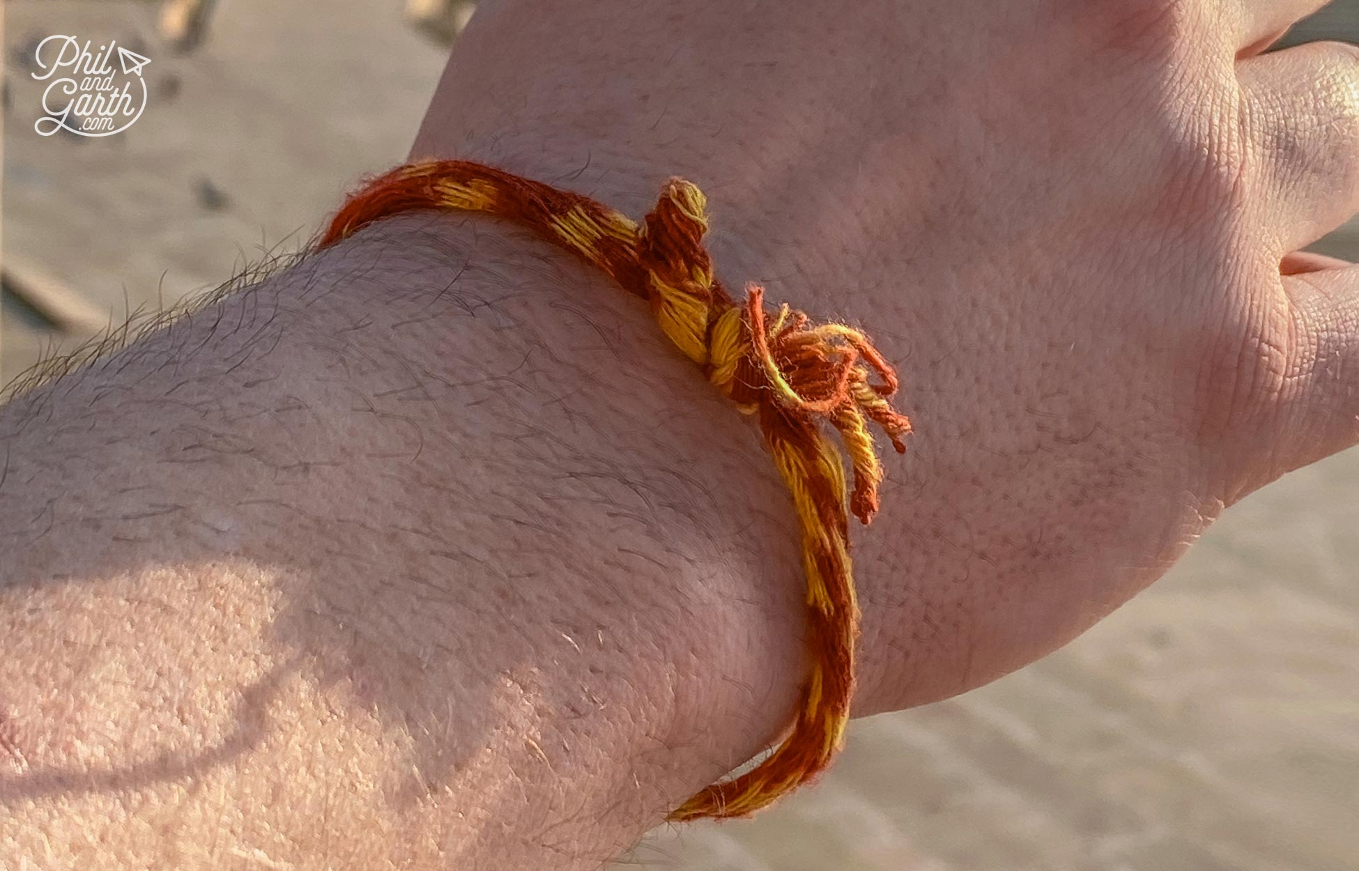 Wear a red and yellow string wristband to avoid the pushy Pushkar priests!
