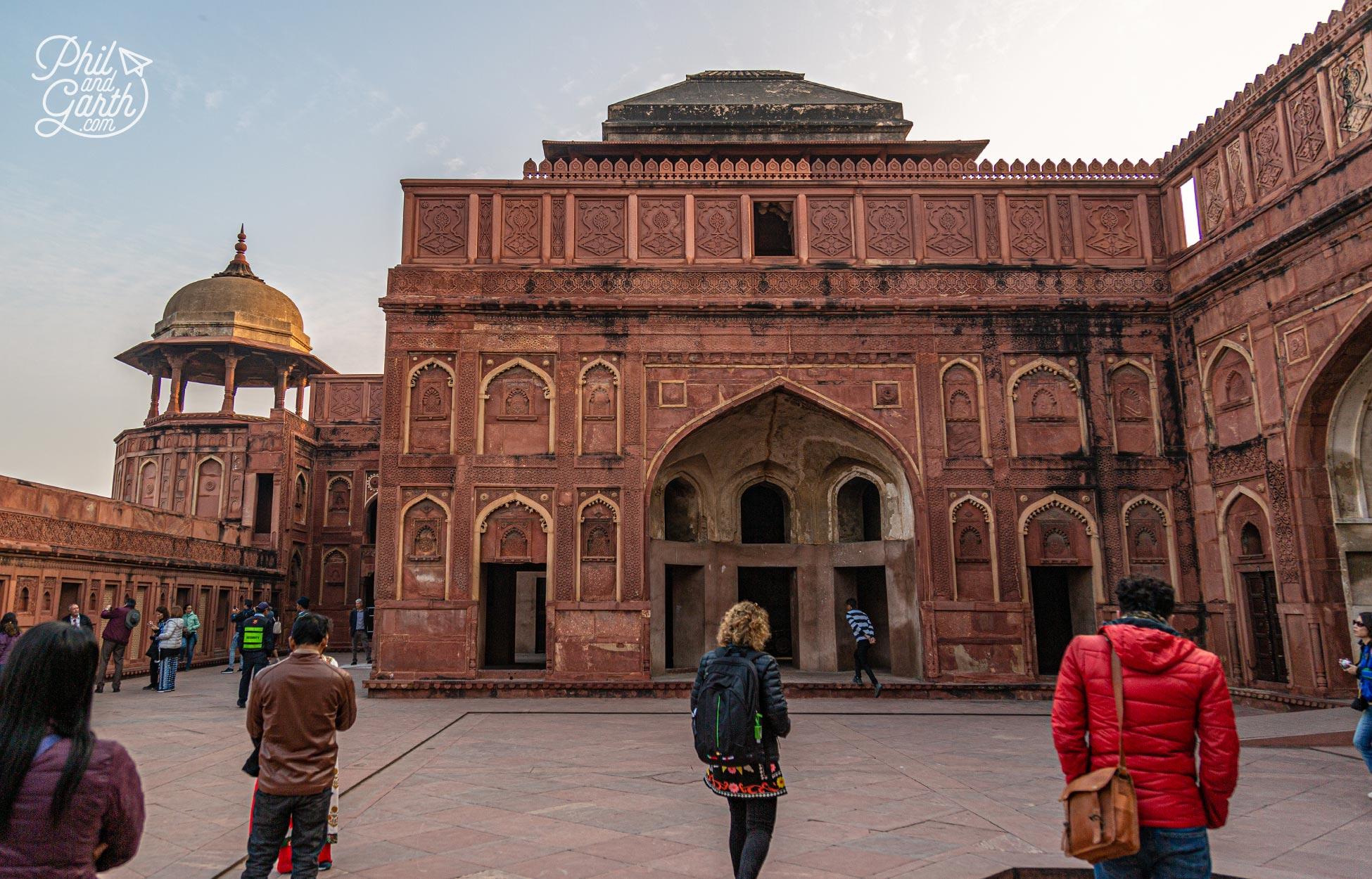 The Riverfront Courtyard of the Jahangiri Mahal Palace