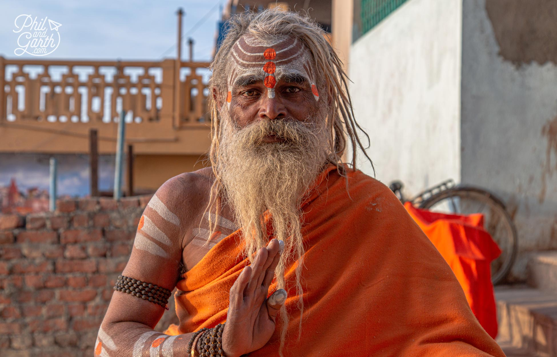 Sadhus in Varanasi have said goodbye to possessions and family