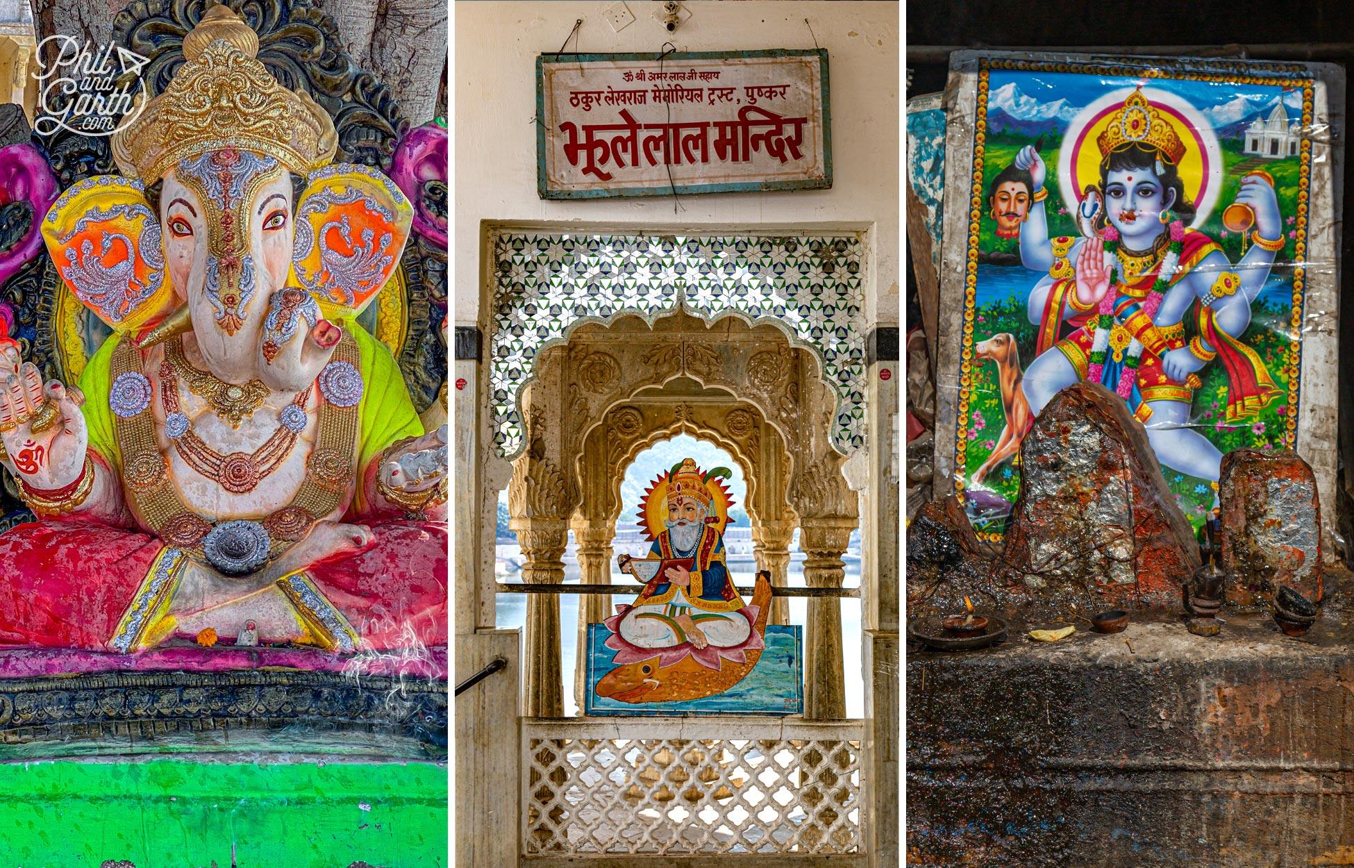 So many shrines to various gods all over Pushkar