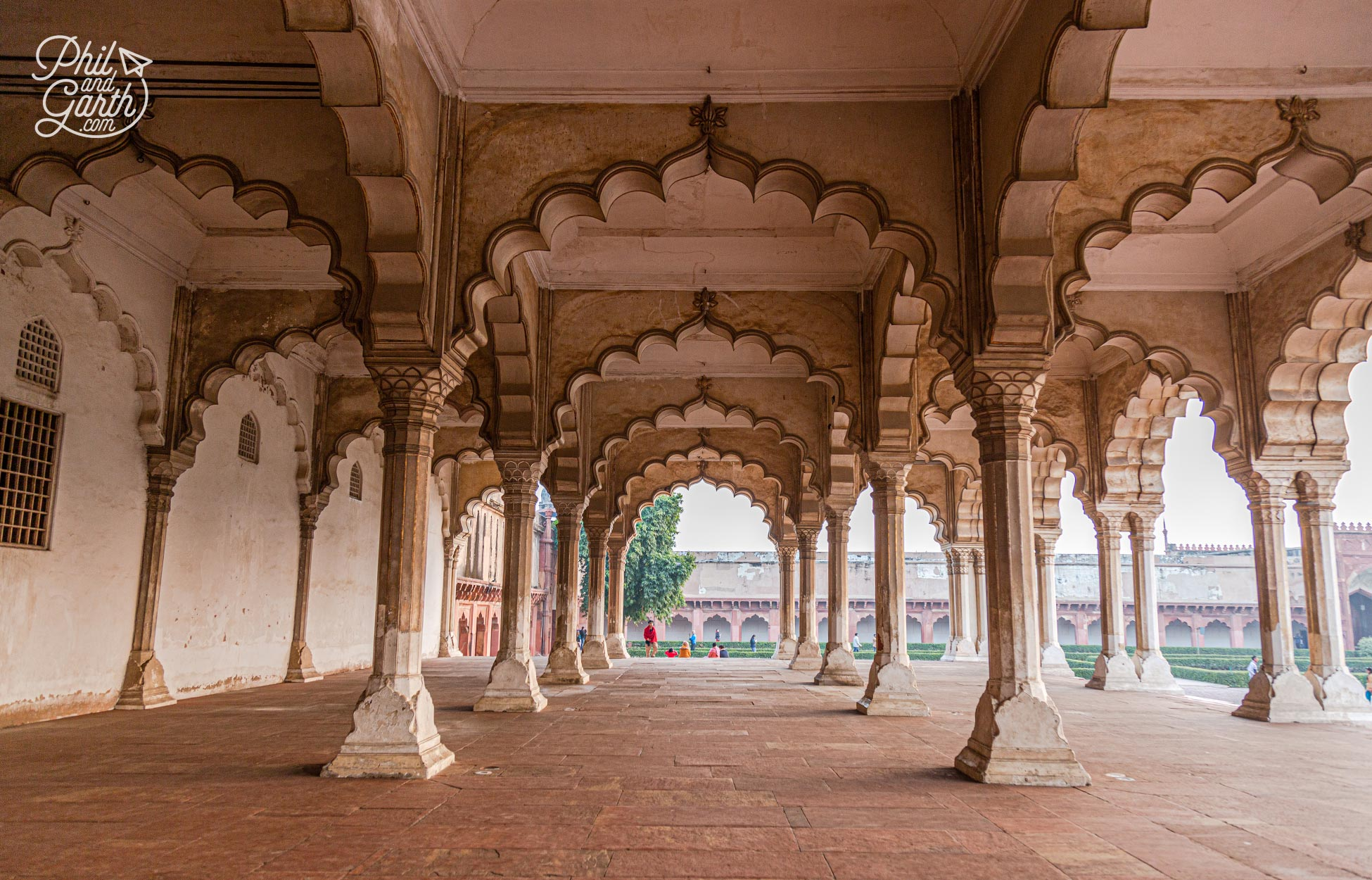 Diwan-I-Am is also called 'The hall of audiences' where the Emperor would meet members of the public