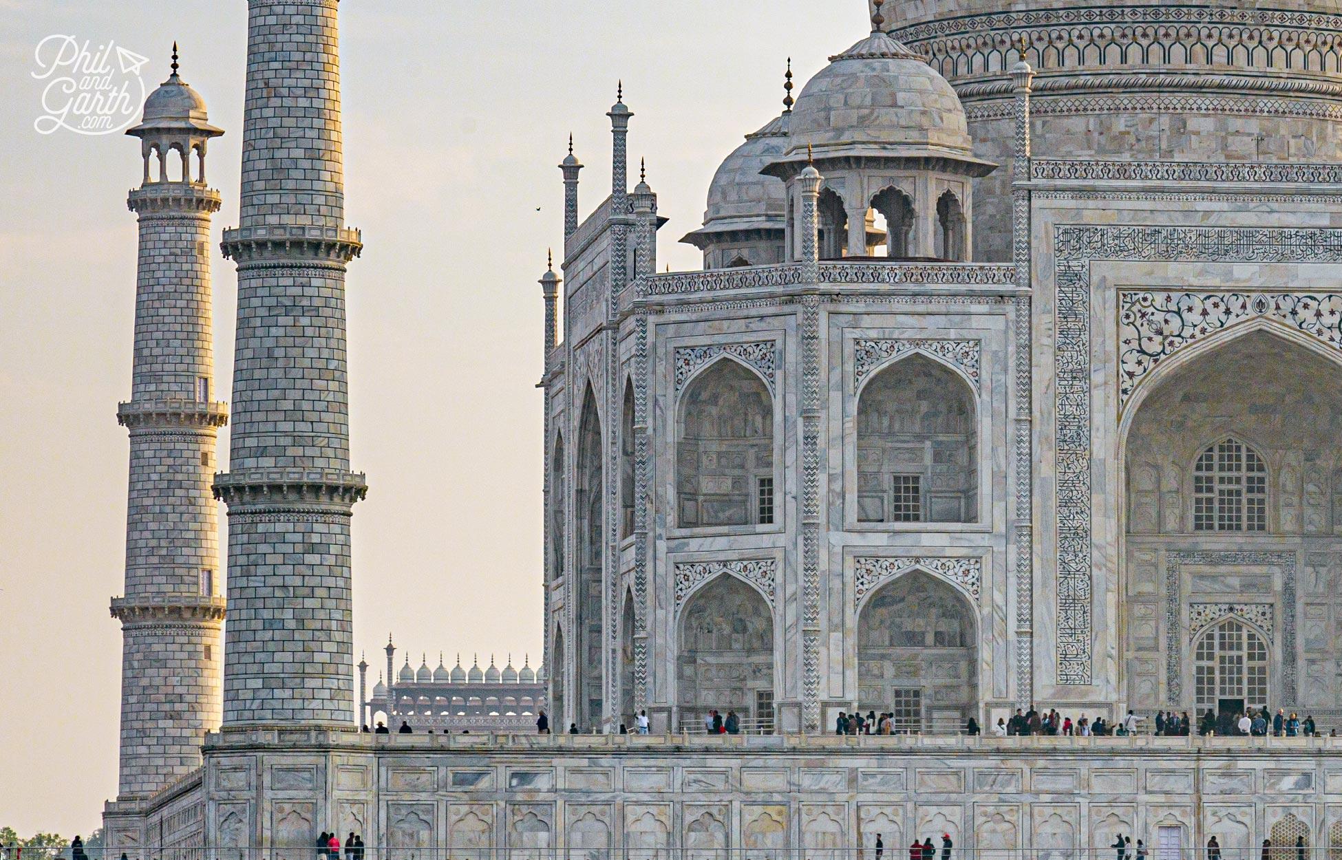 The Taj Mahal mausoleum has the tomb of Mumtaz Mahal