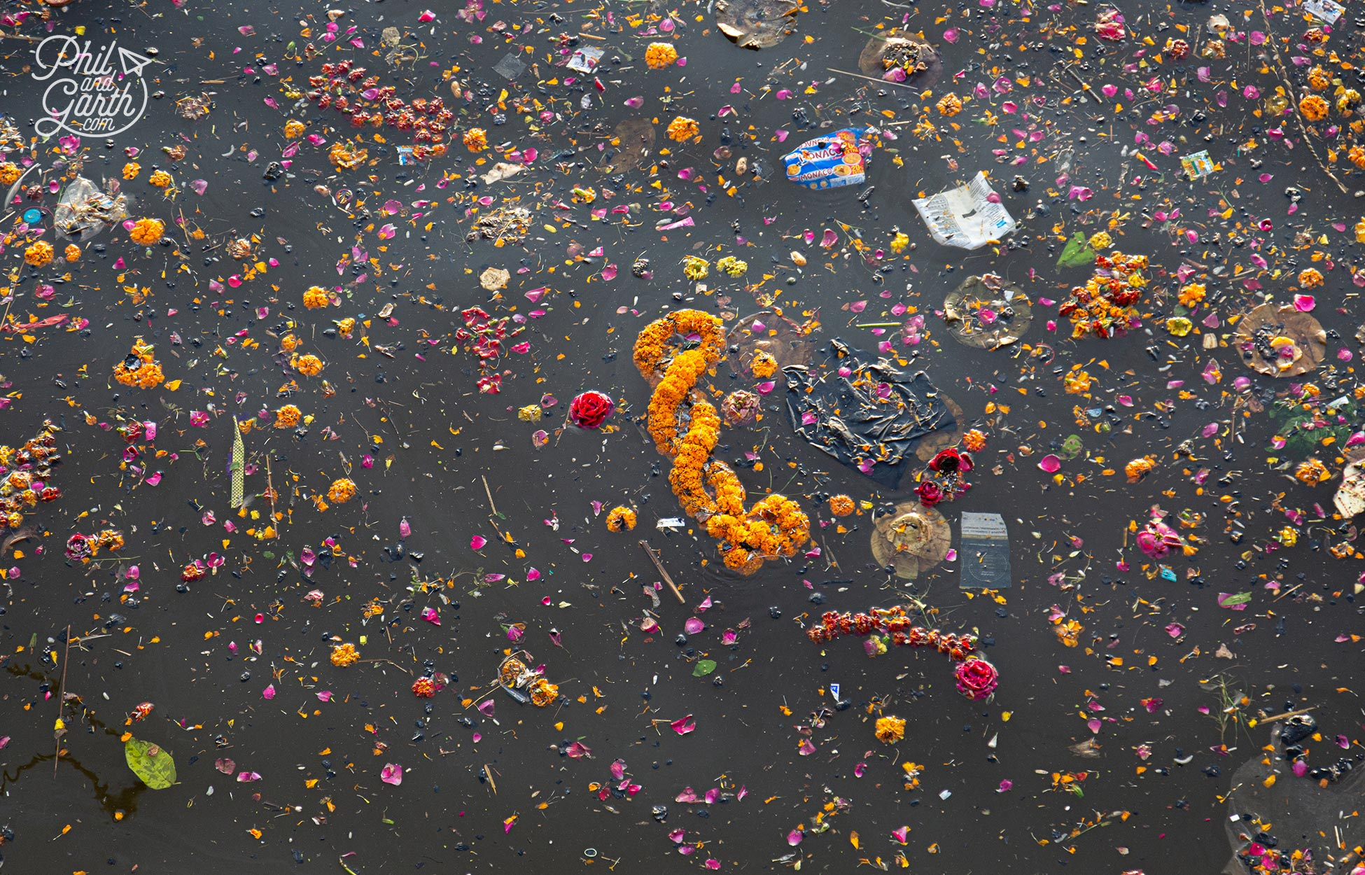 The River Ganges is the gateway to heaven for Hindus. Sadly it's also the 5th most polluted river in the world