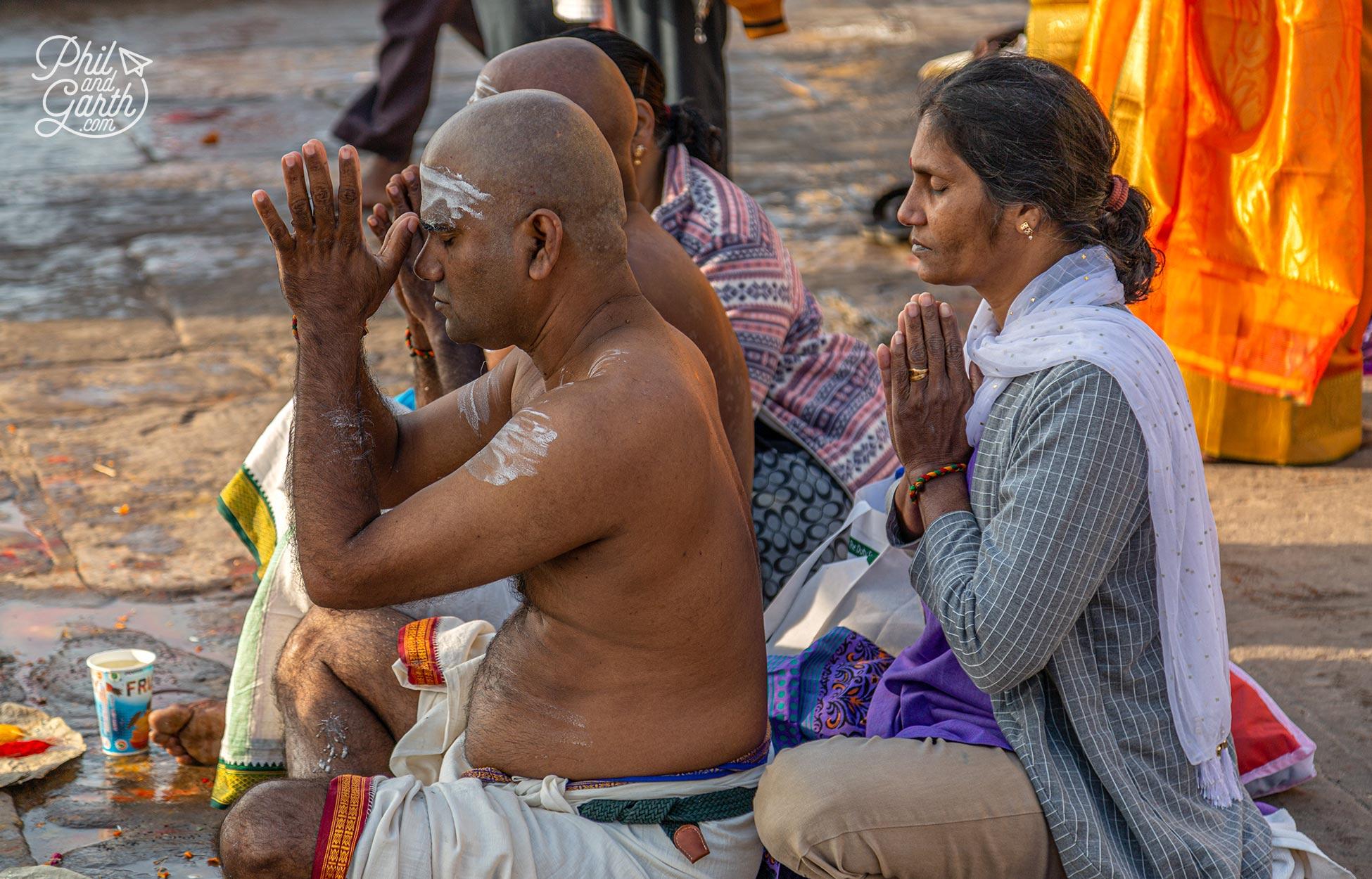 Over2.5 million Hindu pilgrims will visit Varanasi every year