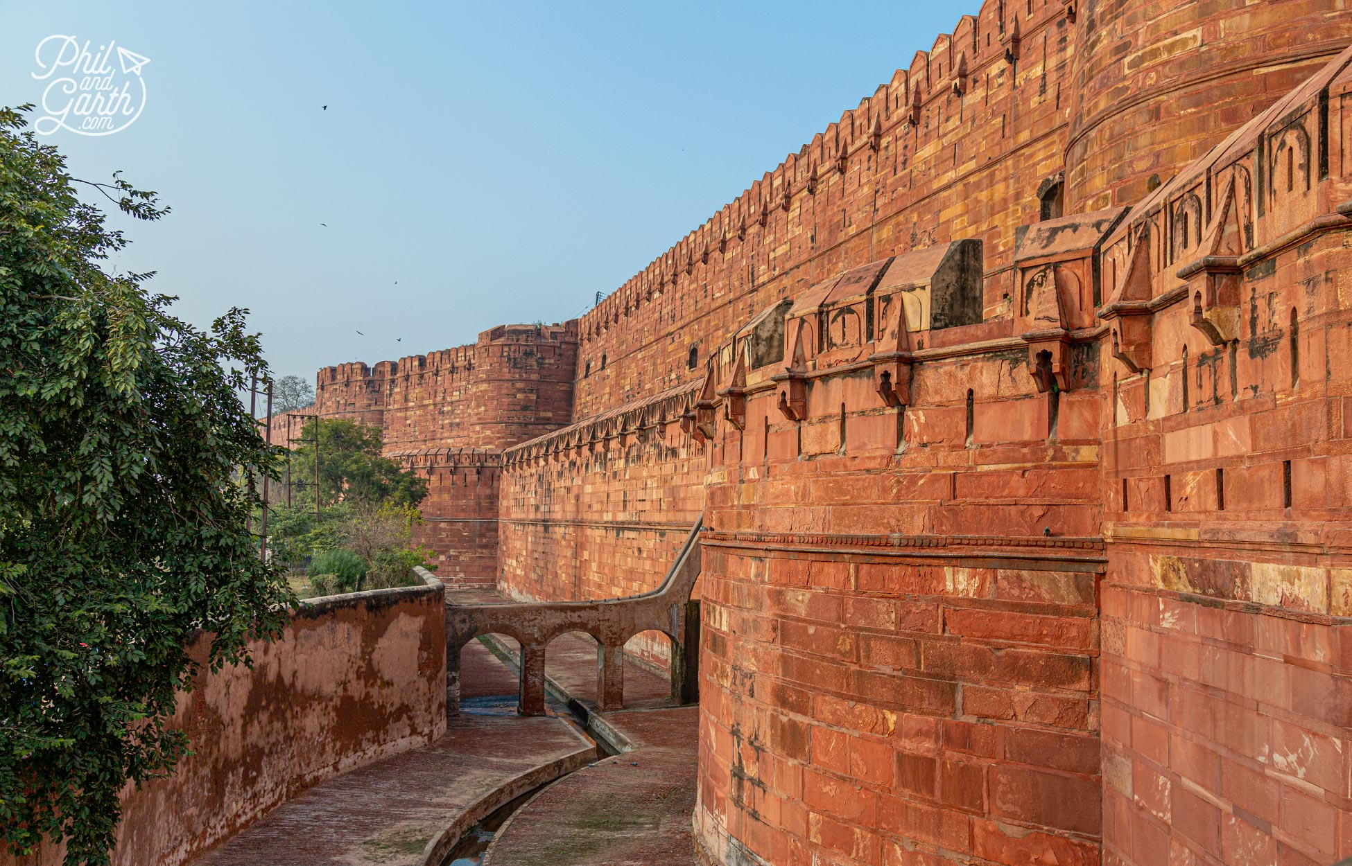 Part of the fort is still used by the Indian Army and is off limits to the public