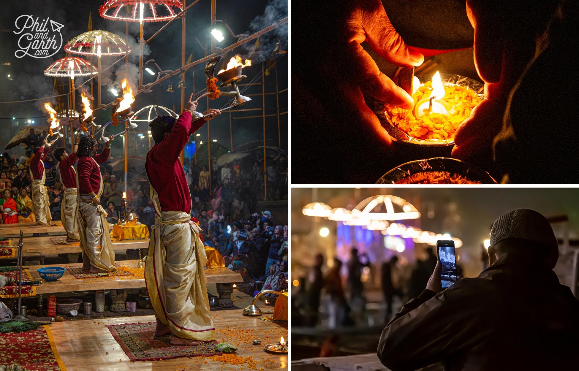 Ganga Aarti - the must see cultural experience of Varanasi