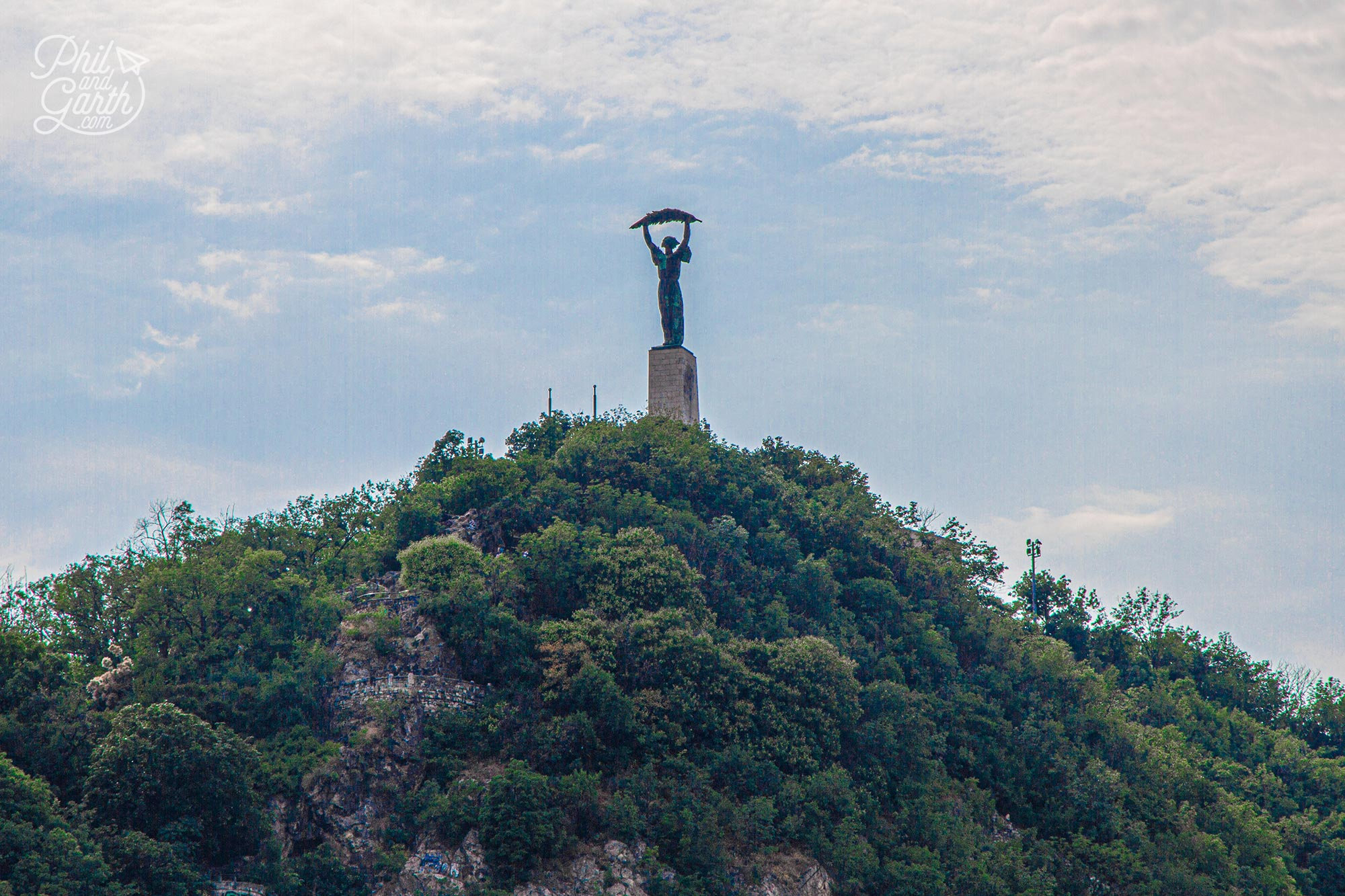 Budapest's 'Statue of Liberty' stands up high on Gellert Hill - Budapest In 2 Days
