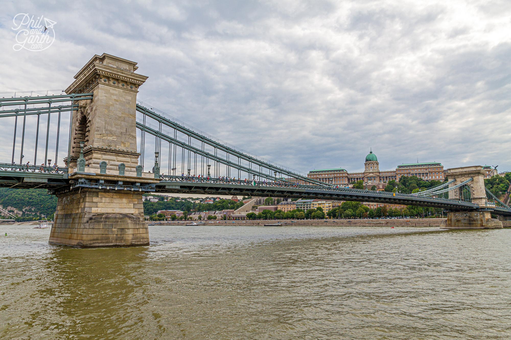 Budapest's ladmark Chain Bridge