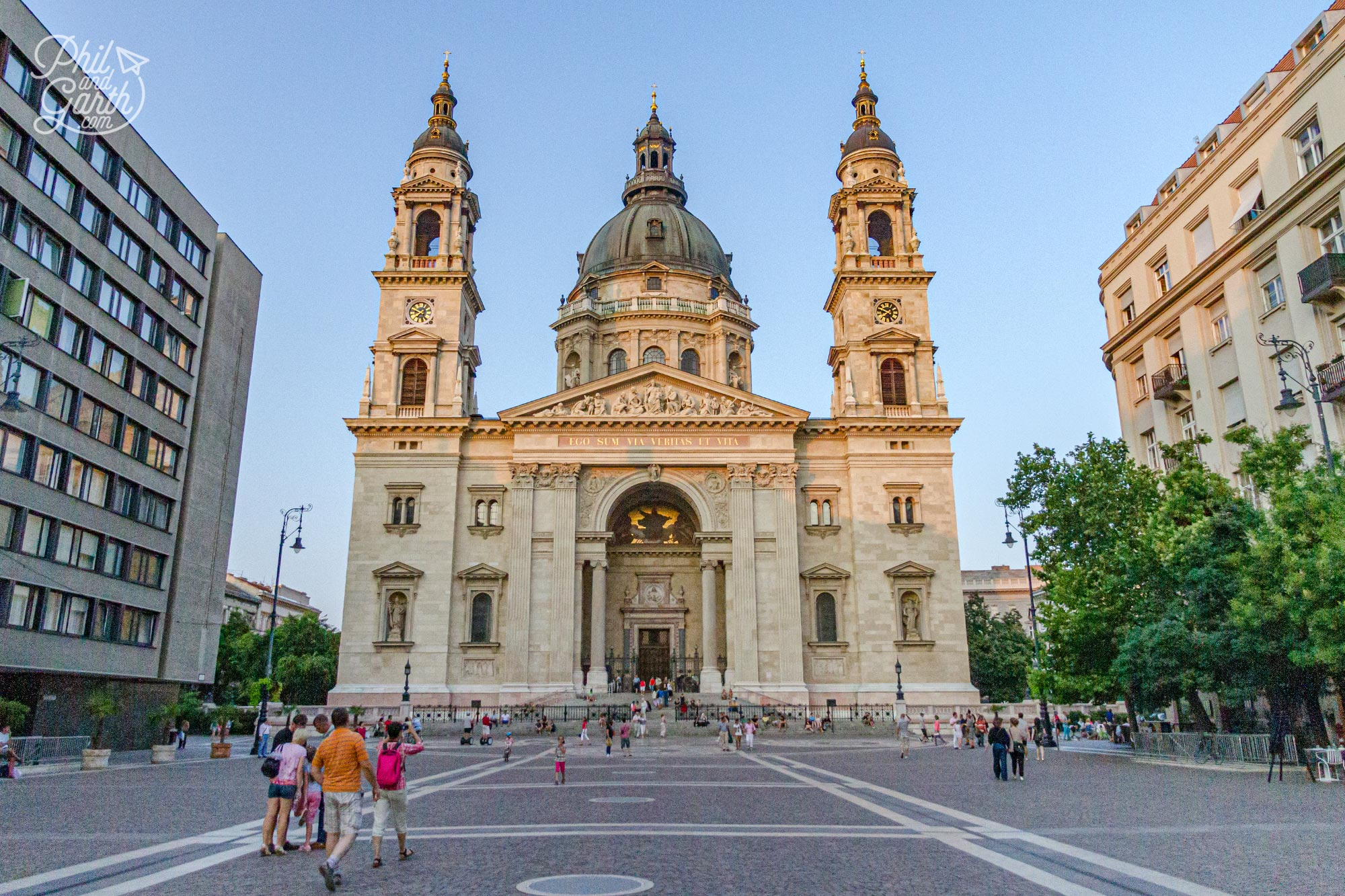 St. Stephen's Basilica was completed in 1905 and took 50 years to build