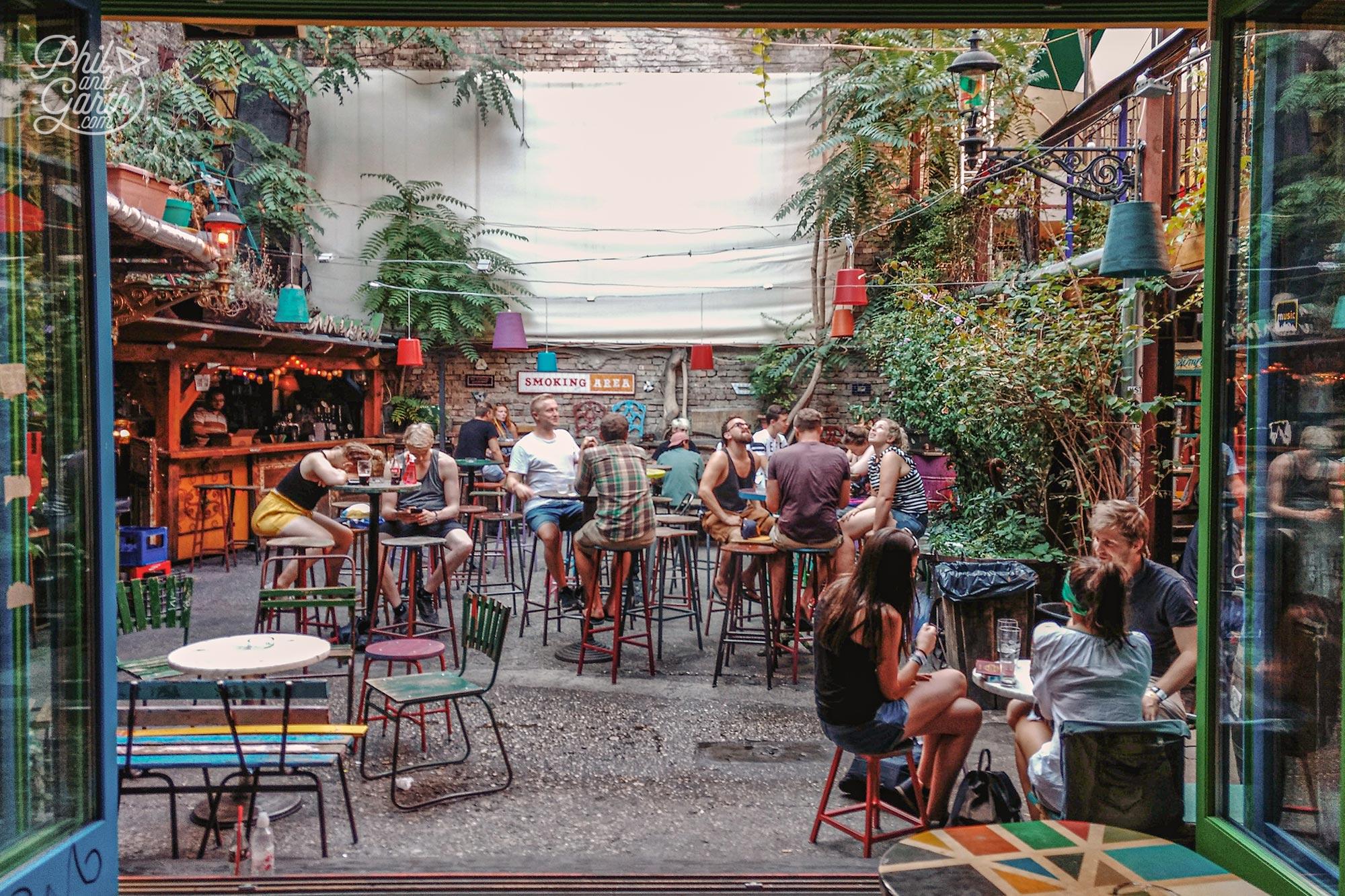 Szimpla Kert - One of Budapest's Ruin bars
