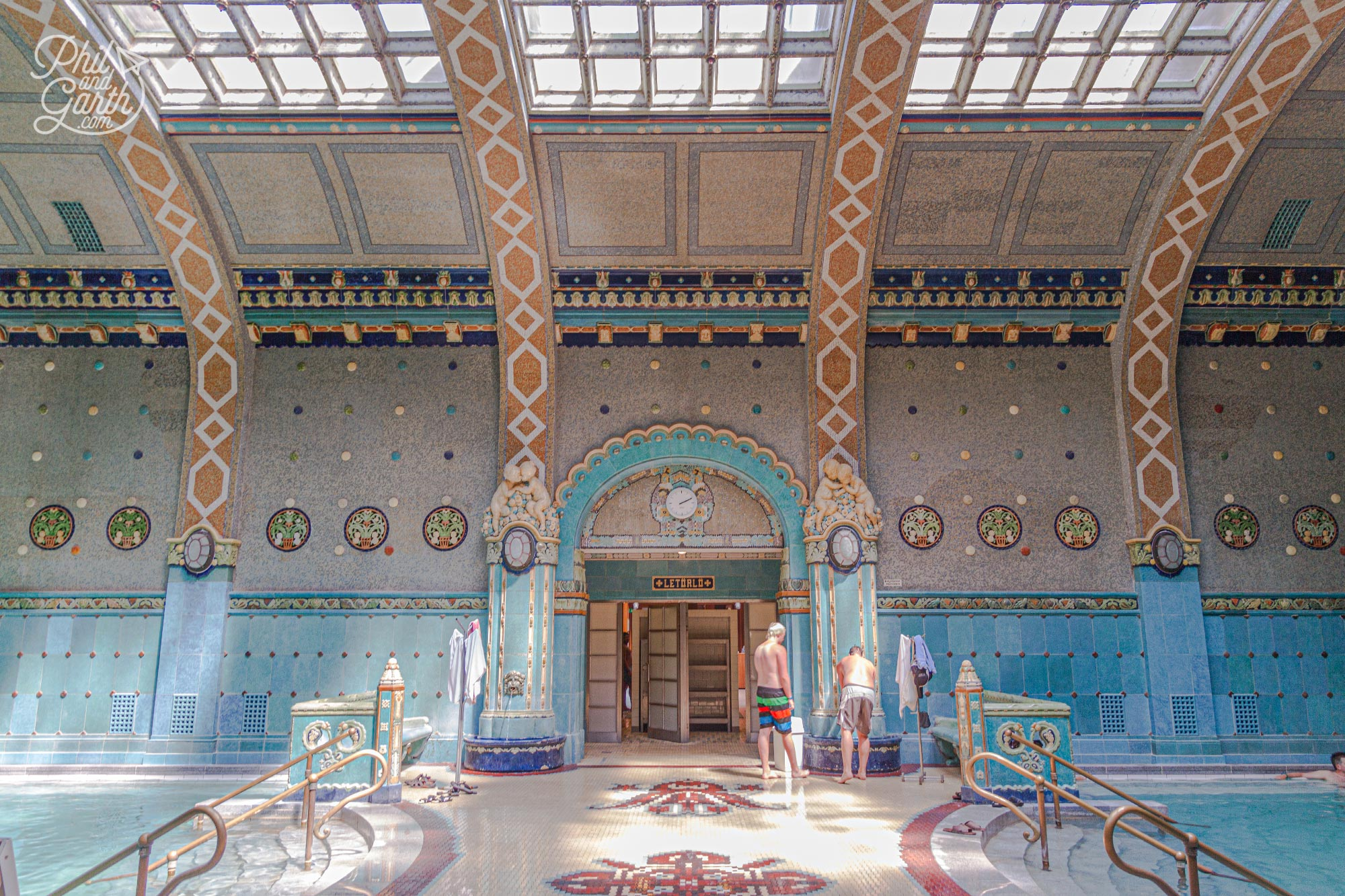 The Gellért Baths was built between 1912 to 1918