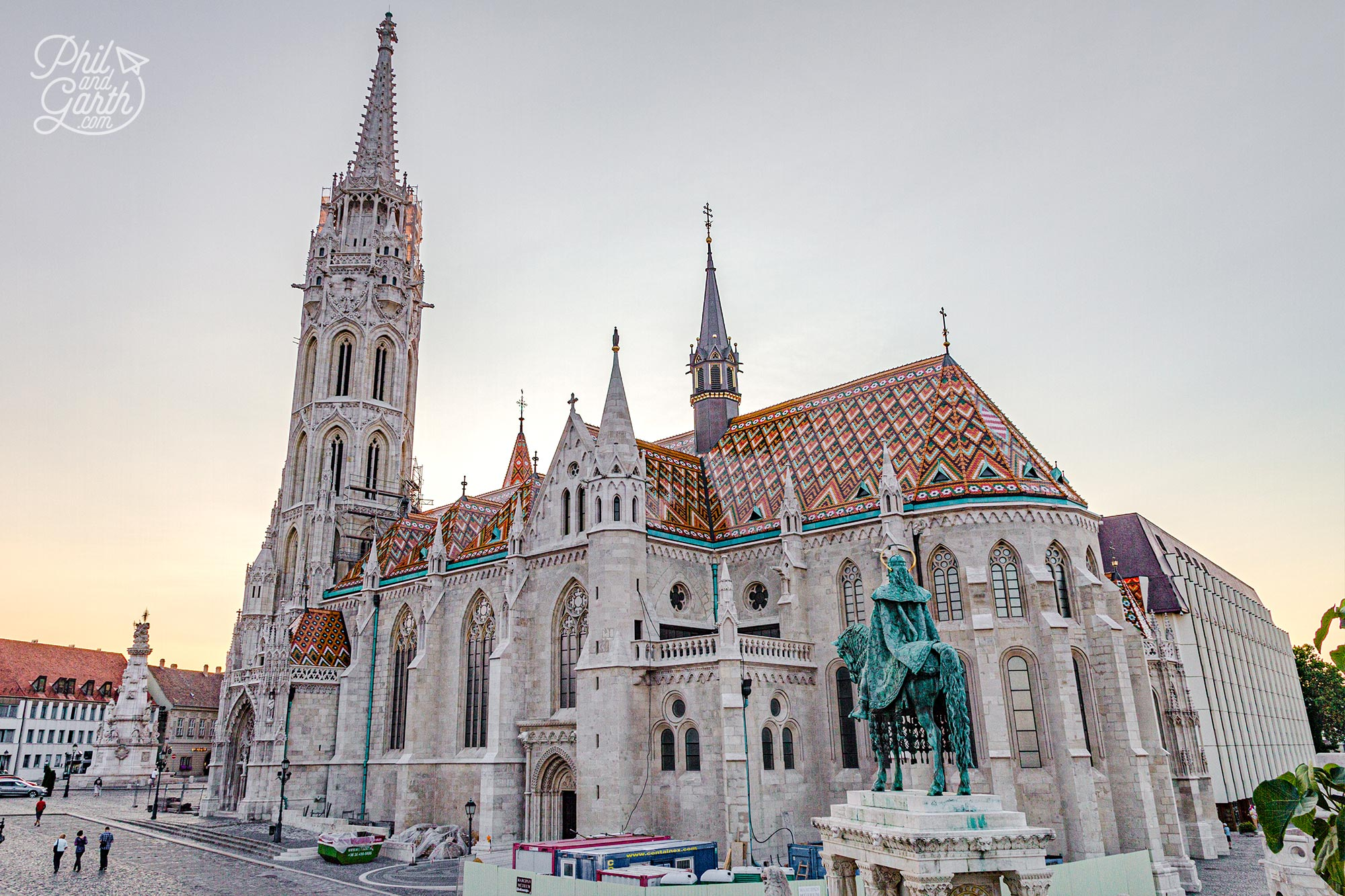 The majestic Matthias Church beautiful inside and out