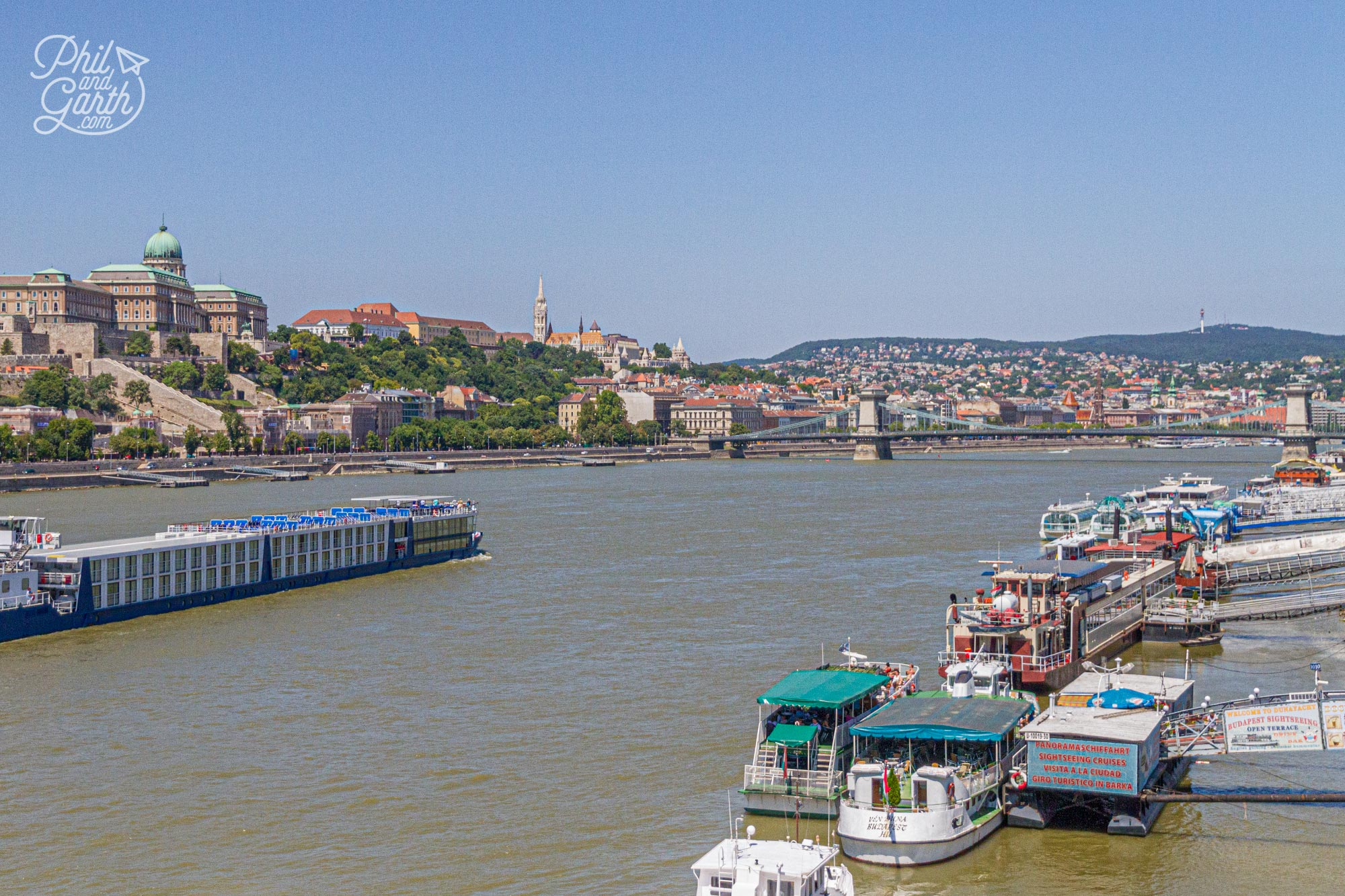 Theres lots of sightseeing river cruises to choose from