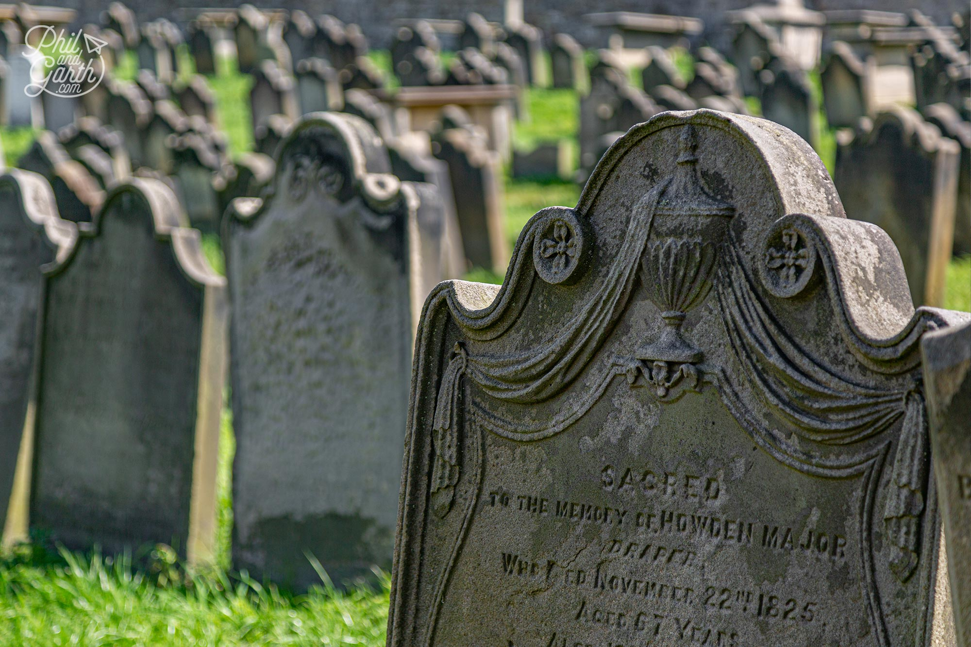 Bram Stoker used names from these graves for Dracula's victims
