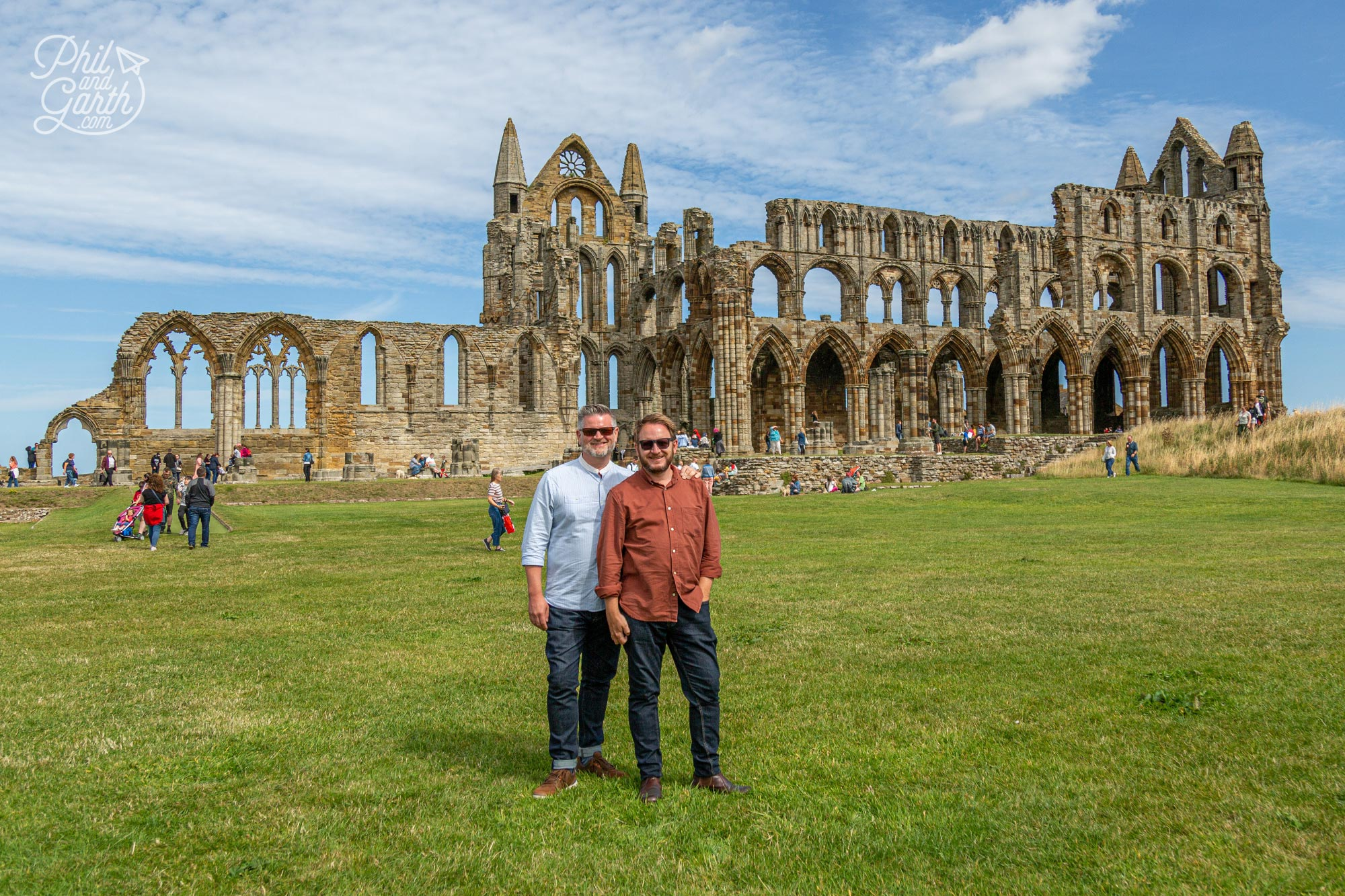 English Heritage now look after Whitby Abbey