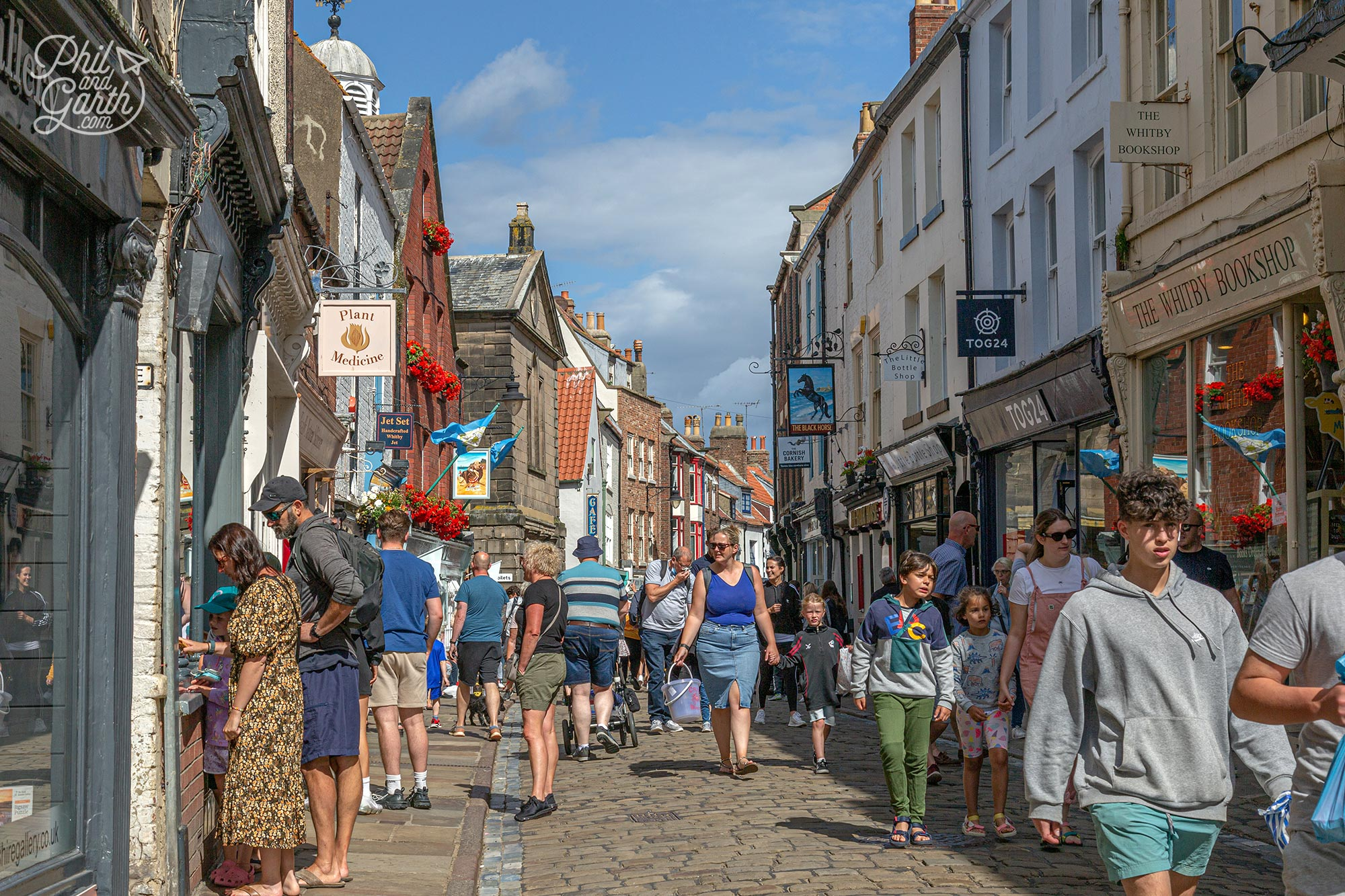 Lots of quirky and independent shops to be found in Whitby