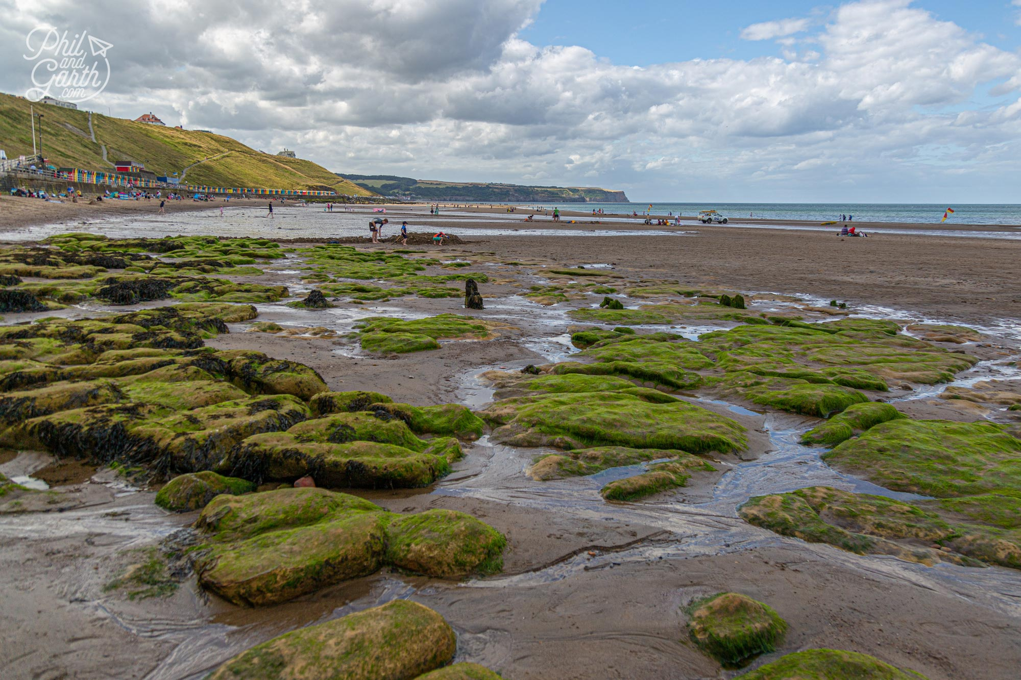 Take a walk from Whitby to neighbouring Sandsend