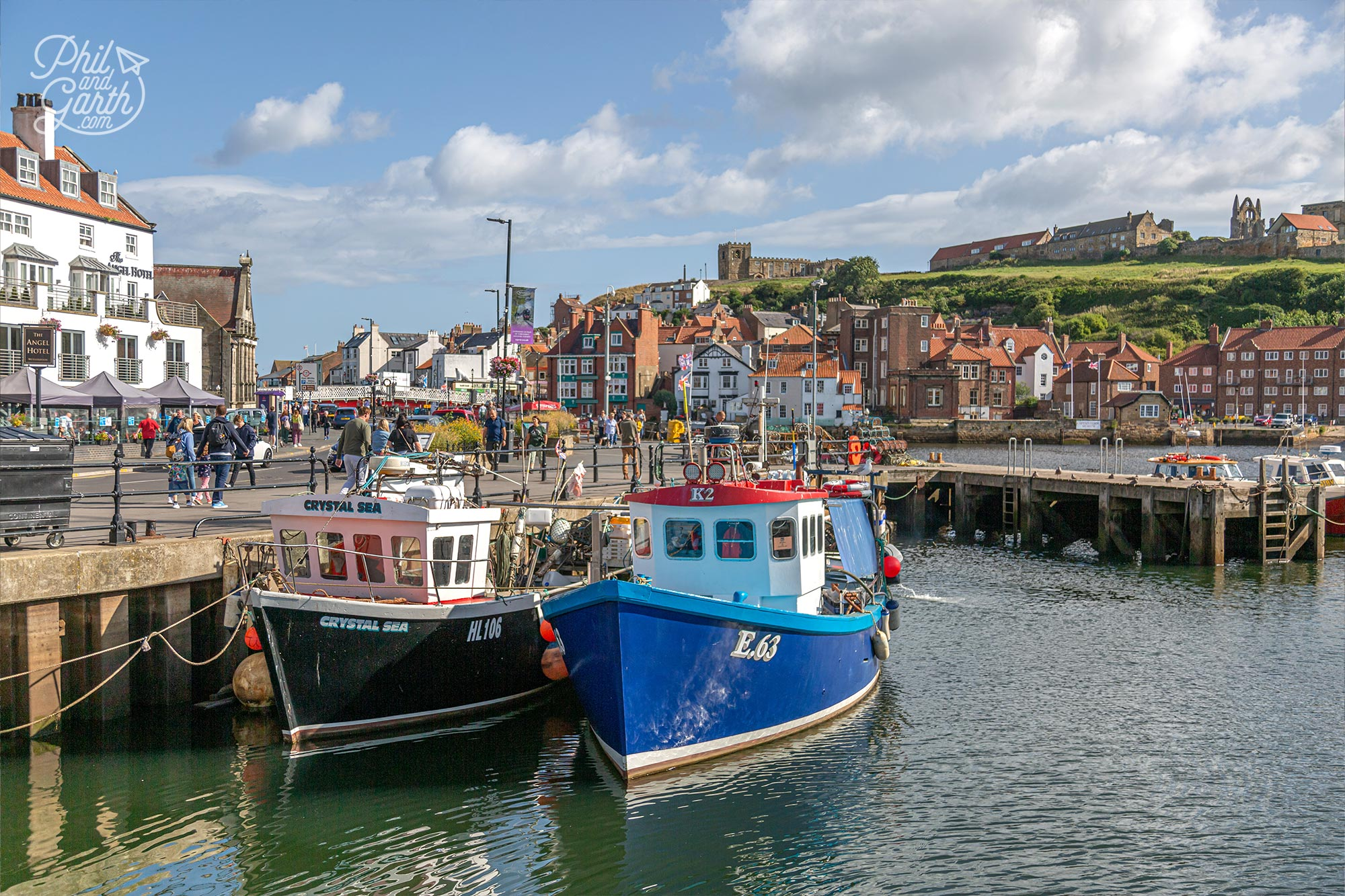 The fishing industry has been a way of life for over 1,000 years in Whitby