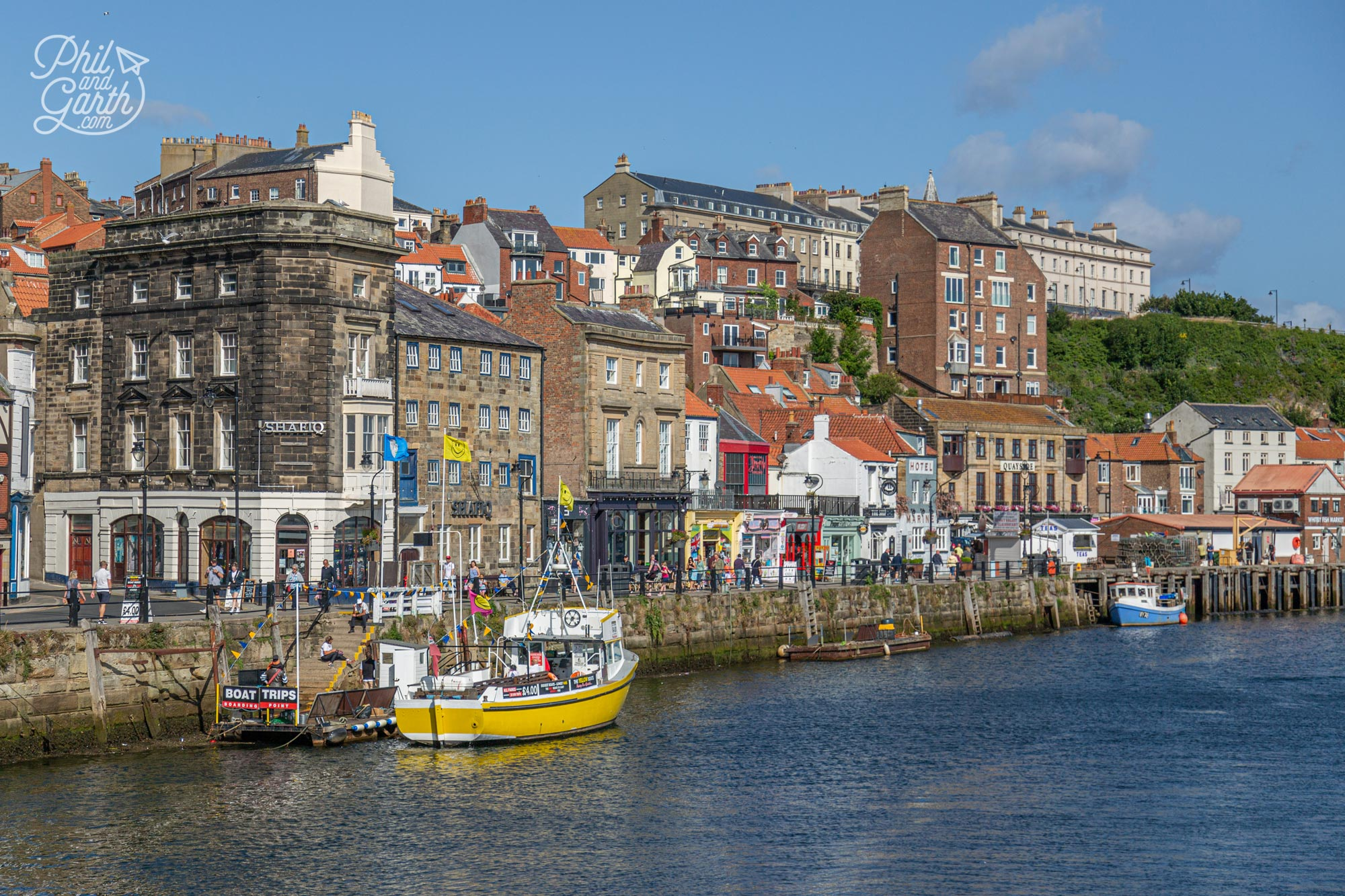 Whitby harbour - the best place for entertainment, bars and restaurants