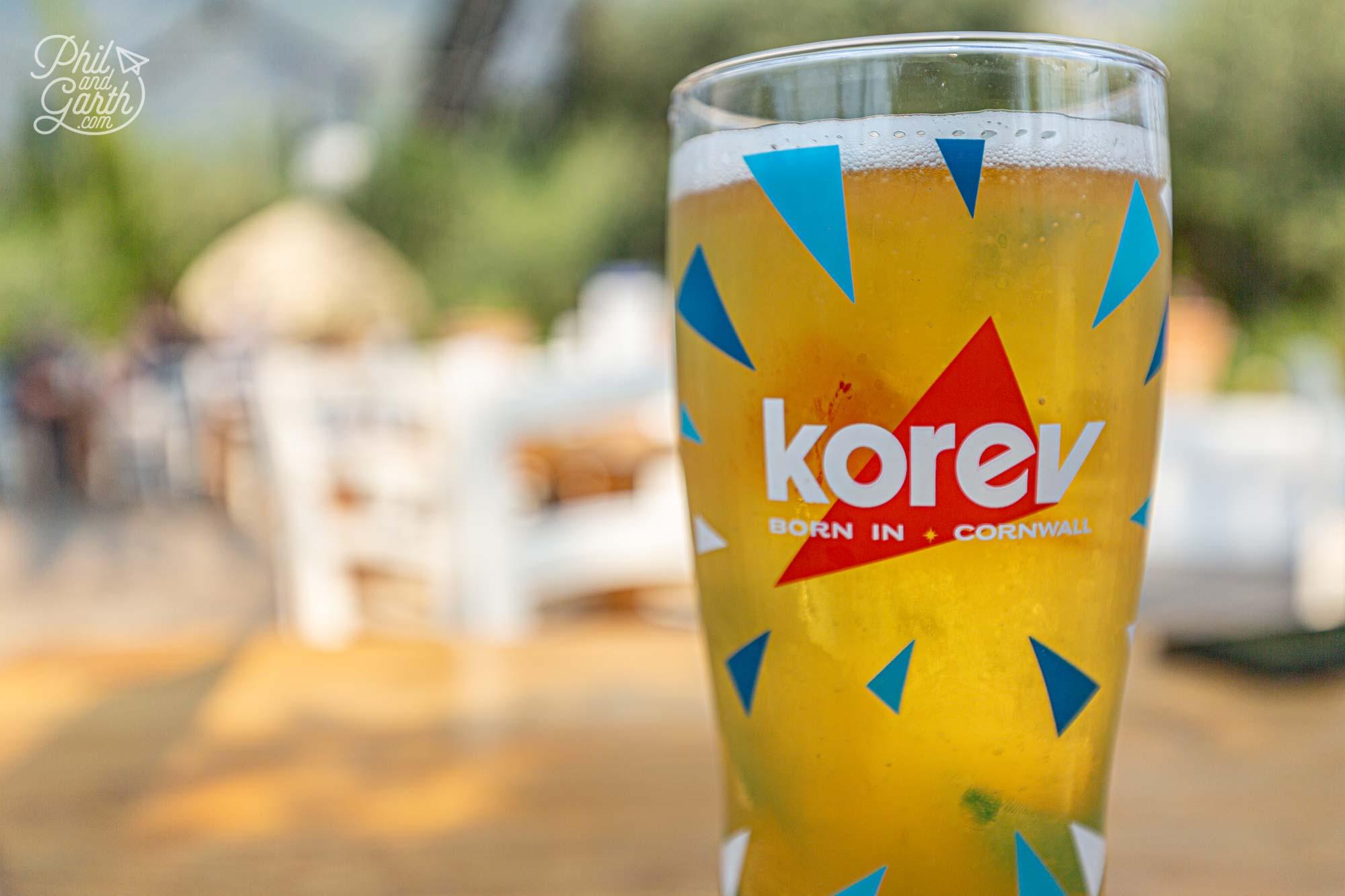Korev - Cornwall's locally brewed beer