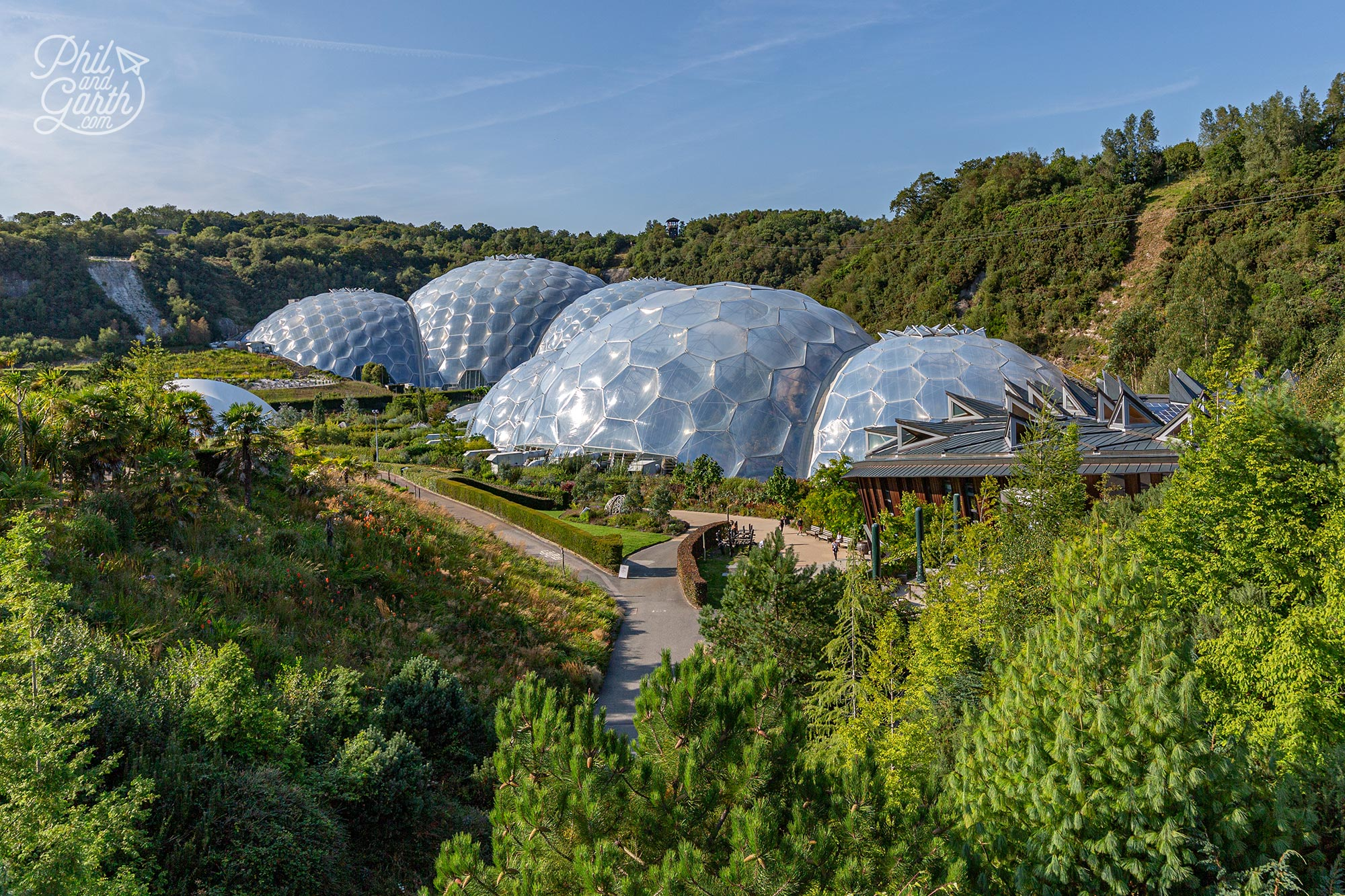 The Eden Project is like a Noah's ark of plants