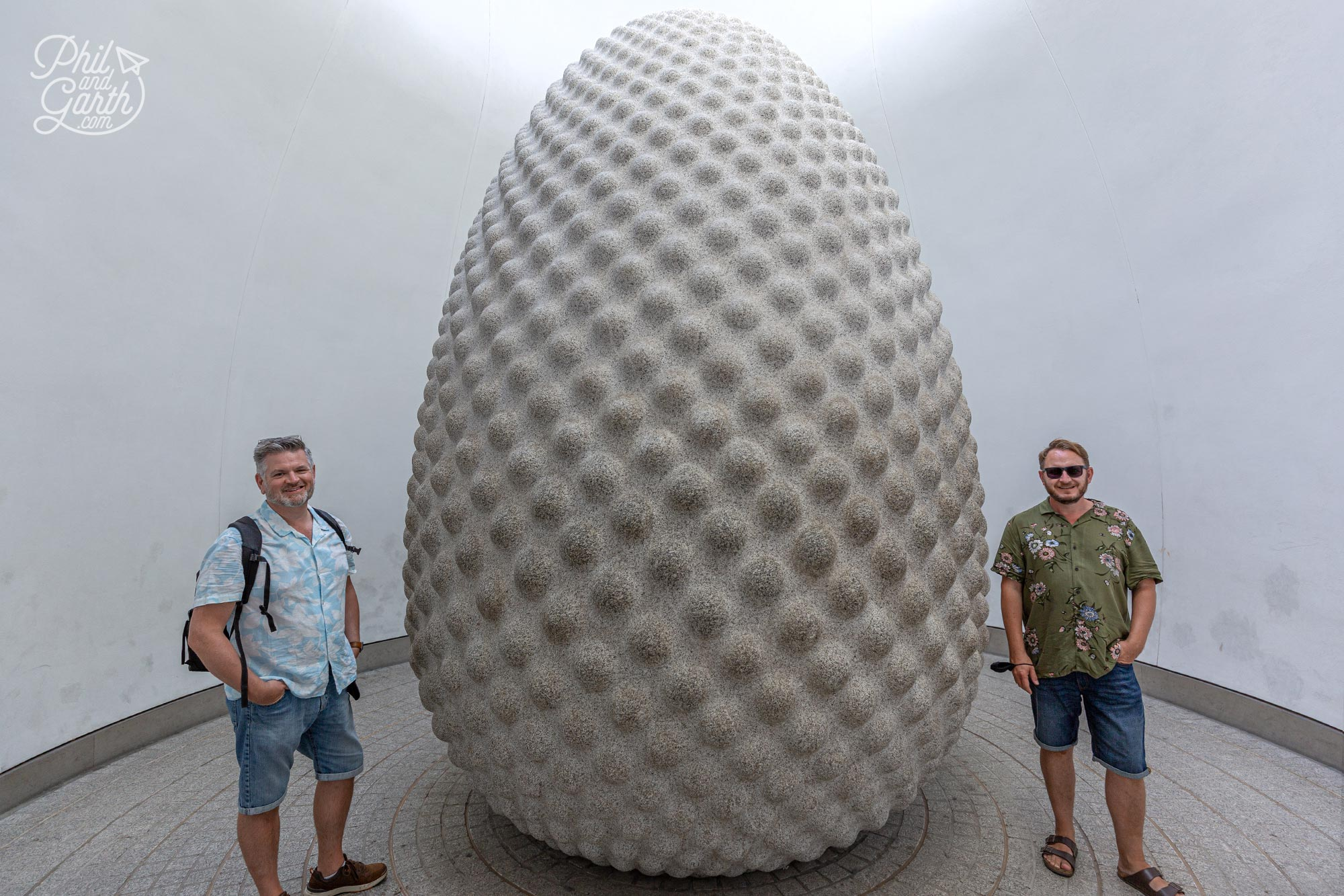 The Seed - a cool sculpture designed and created by Peter Randall Page